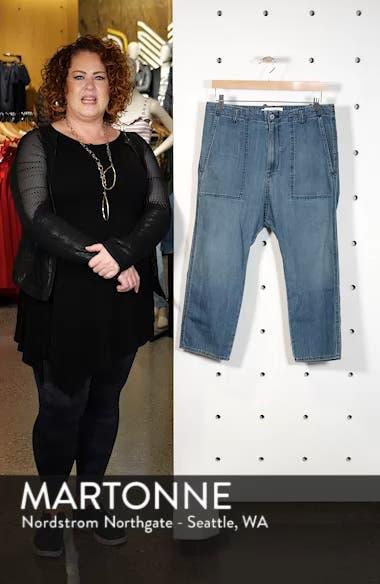 Luna Crop Jeans, sales video thumbnail