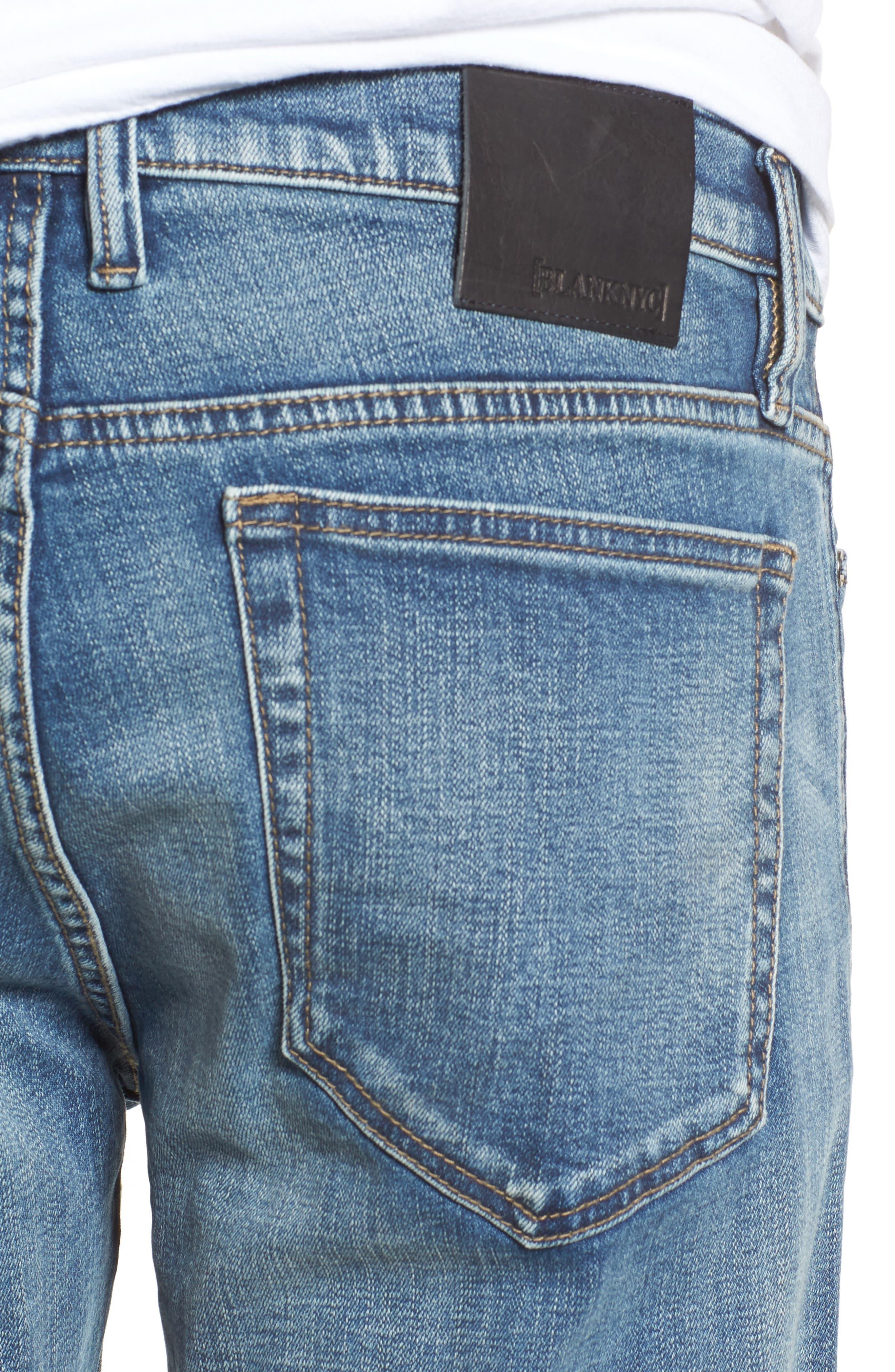 Wooster Slim Fit Jeans,                             Alternate thumbnail 4, color,                             400
