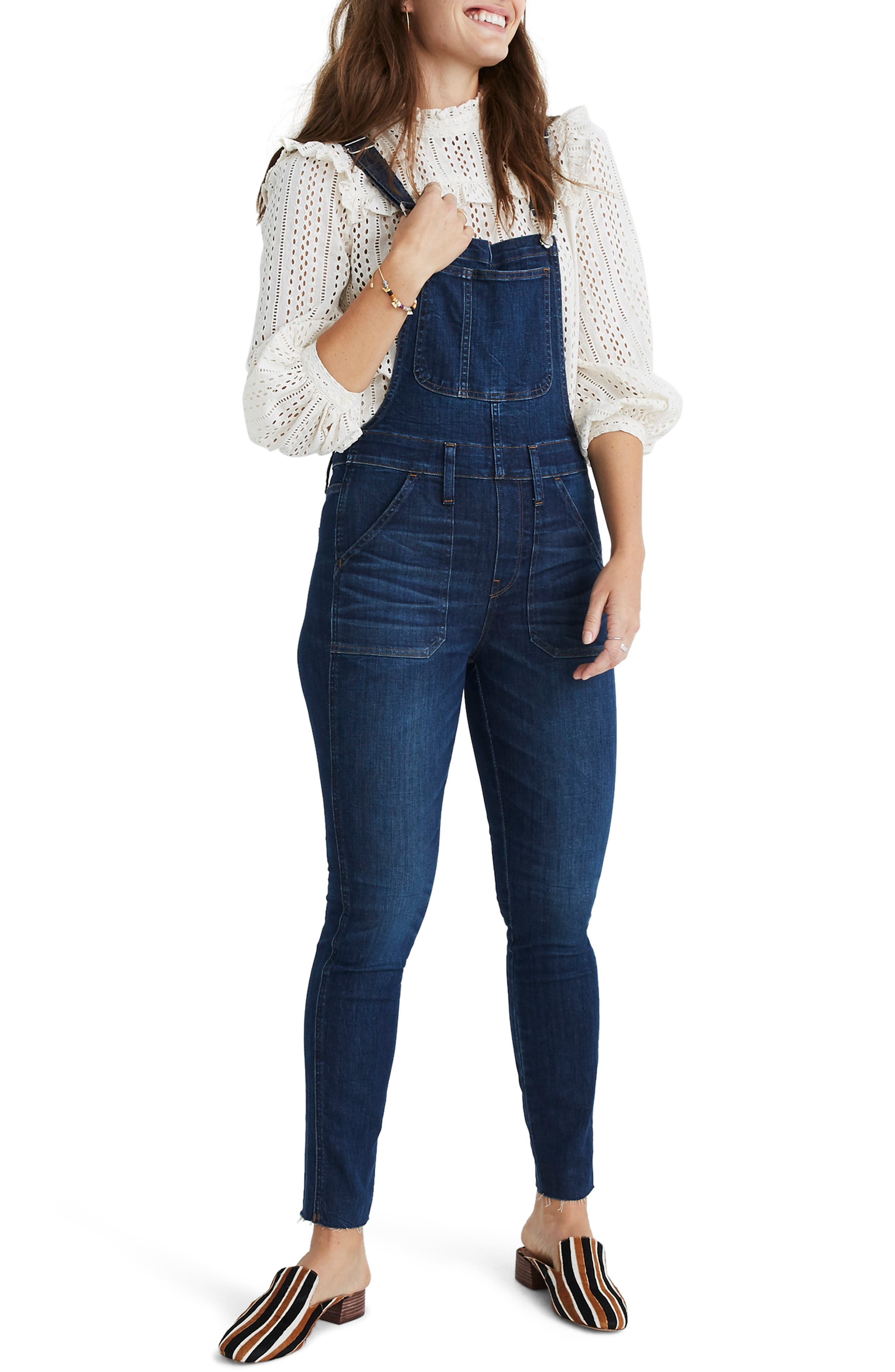 Eco Edition Skinny Overalls,                             Main thumbnail 1, color,                             ELMDALE