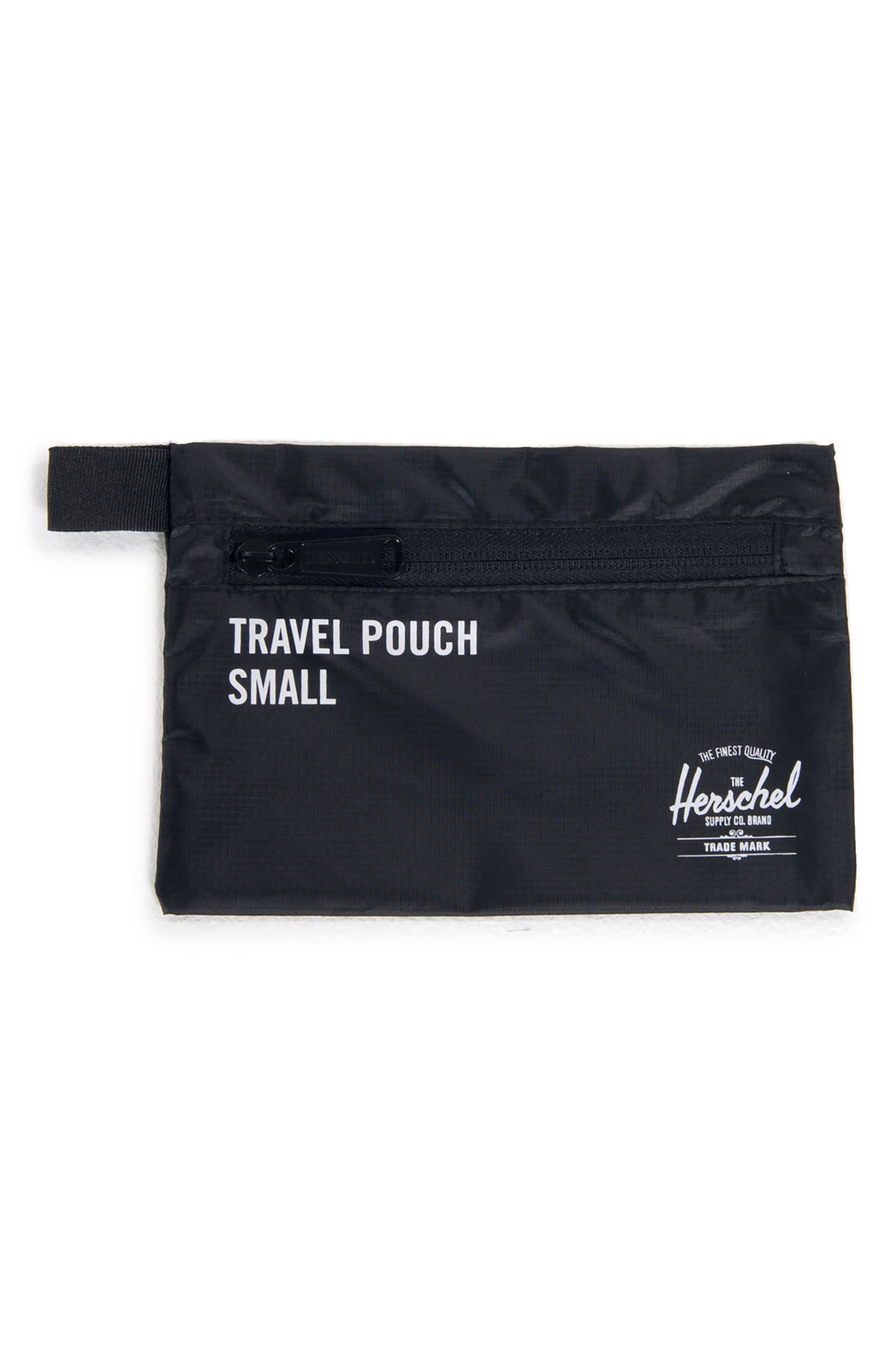 Travel Pouch Set,                             Alternate thumbnail 3, color,                             BLACK