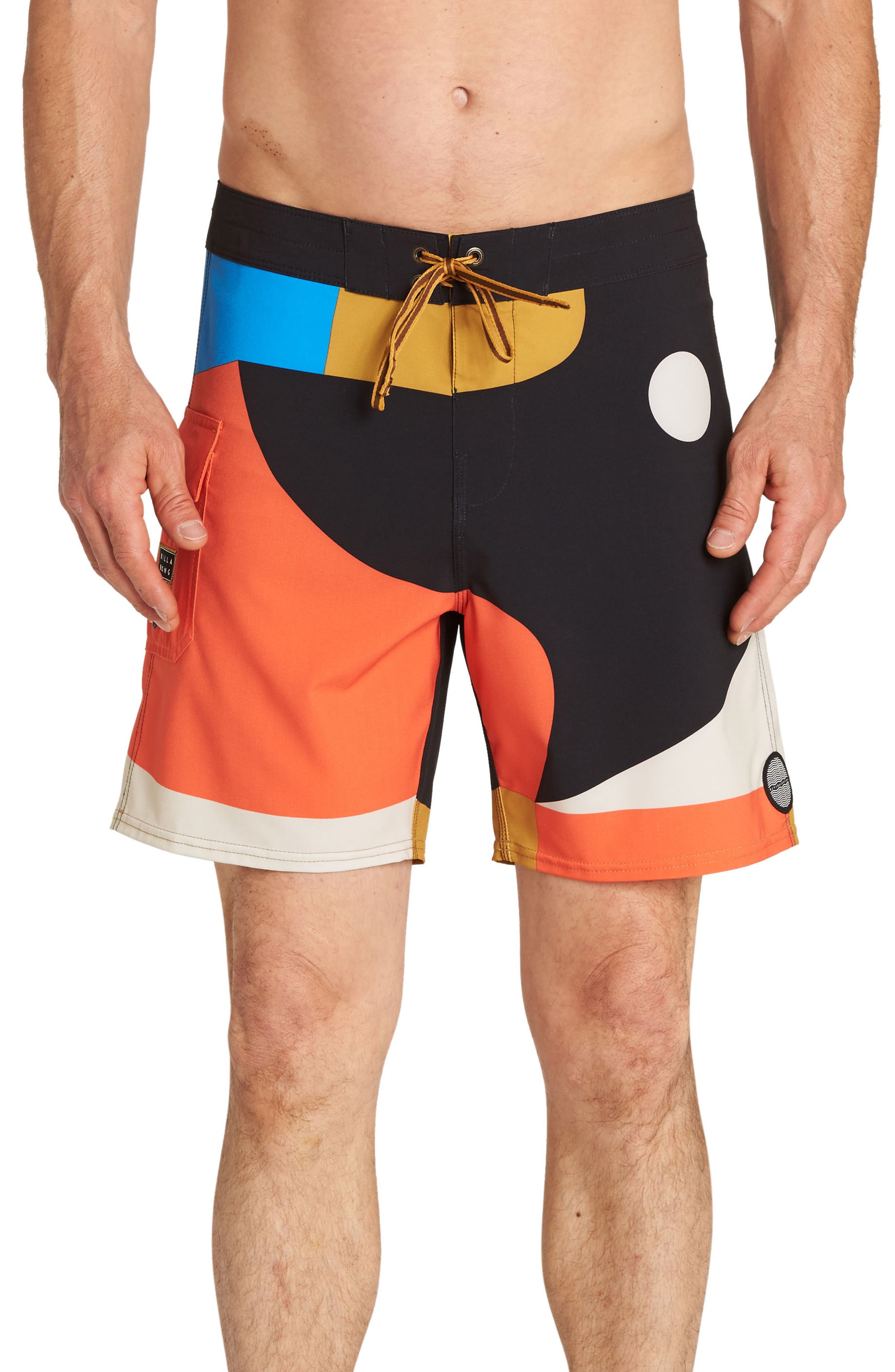 Vai Vai Swim Trunks,                             Main thumbnail 1, color,                             MULTI