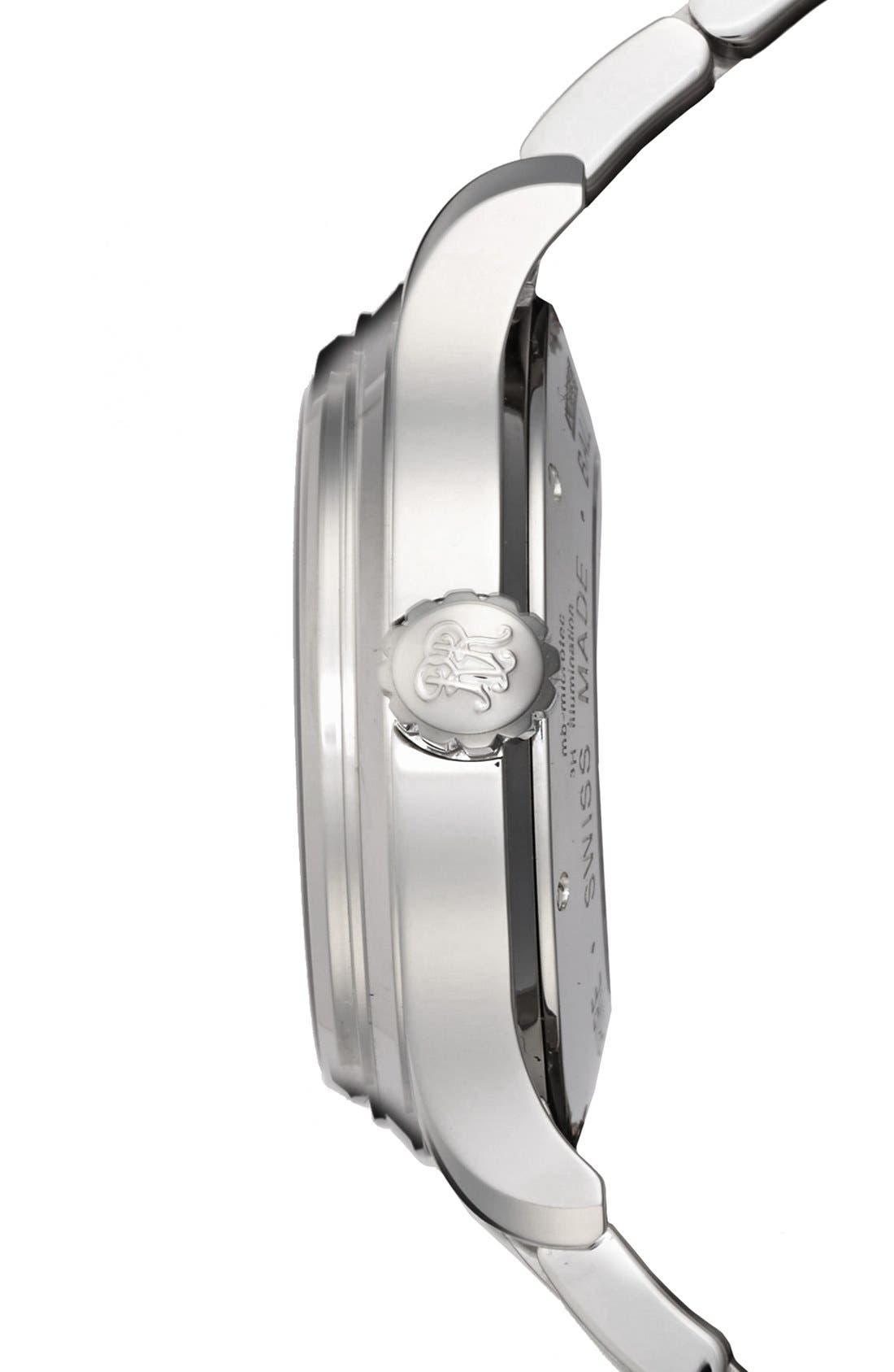 'Trainmaster 60 Seconds II' Bracelet Watch, 41mm,                             Alternate thumbnail 2, color,                             100