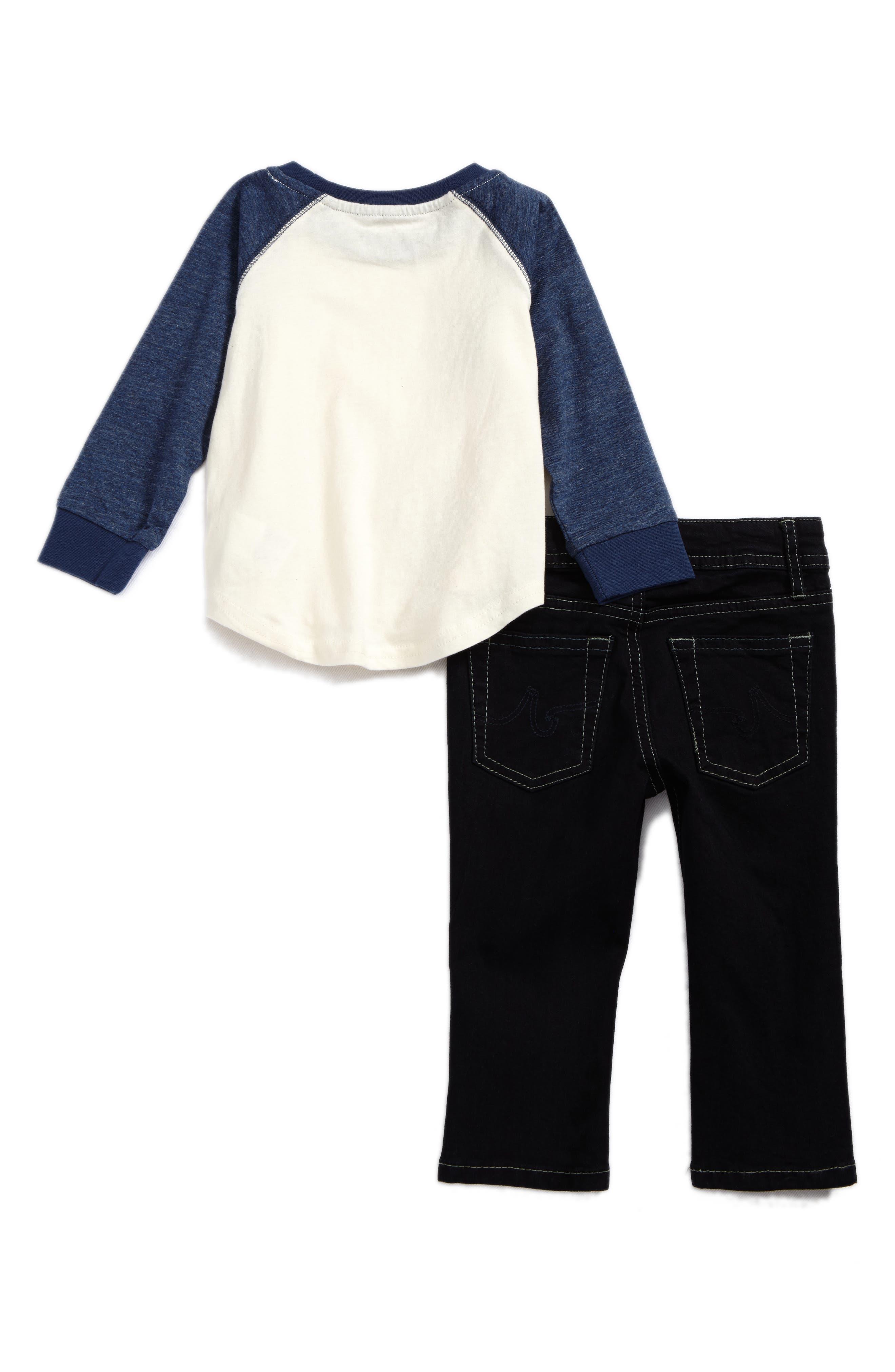 T-Shirt & Jeans Set,                             Alternate thumbnail 2, color,                             465