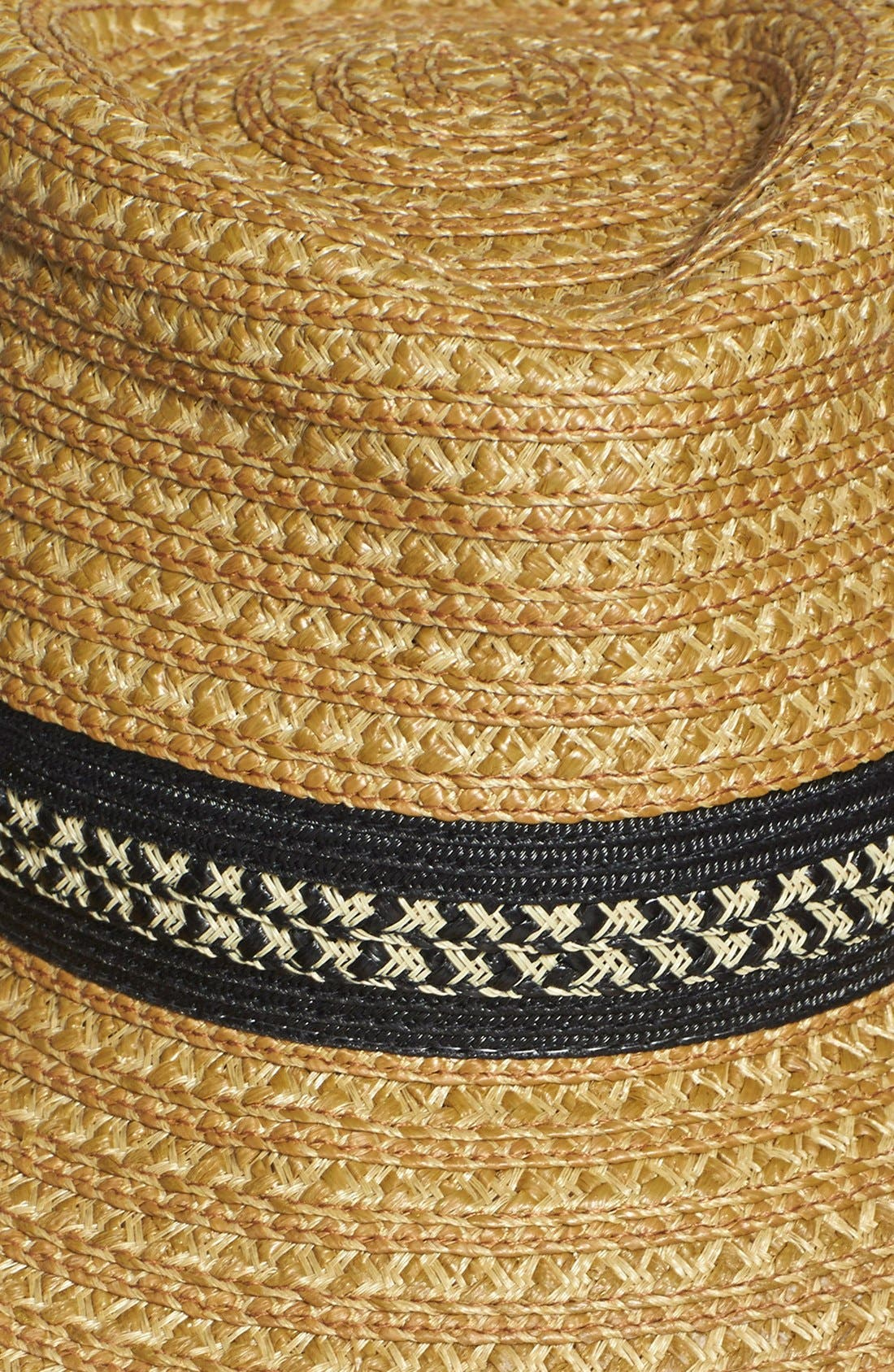 Squishee<sup>®</sup> Straw Fedora,                             Alternate thumbnail 2, color,                             252