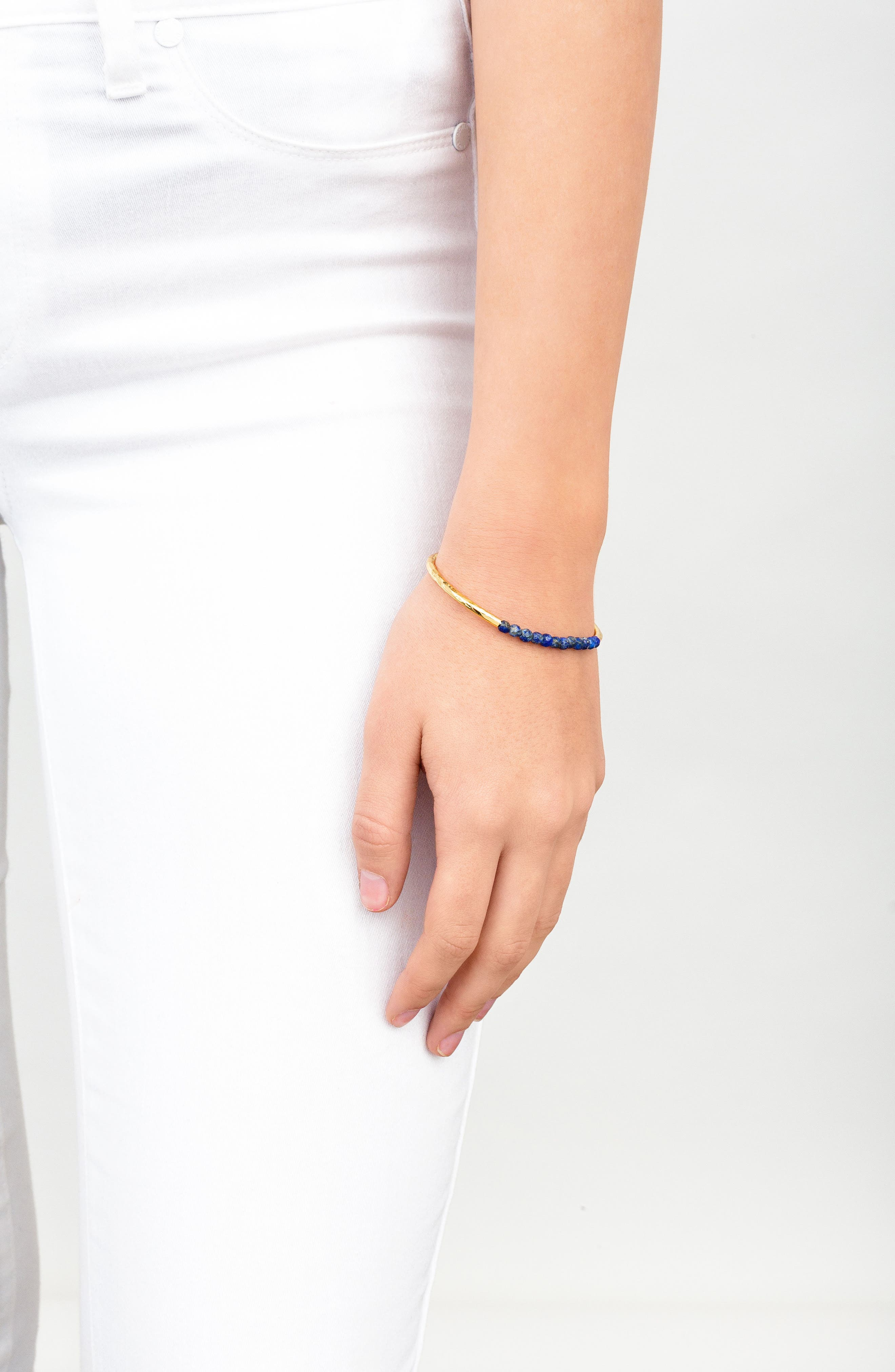 Power Stone Semiprecious Beaded Bracelet,                             Alternate thumbnail 25, color,