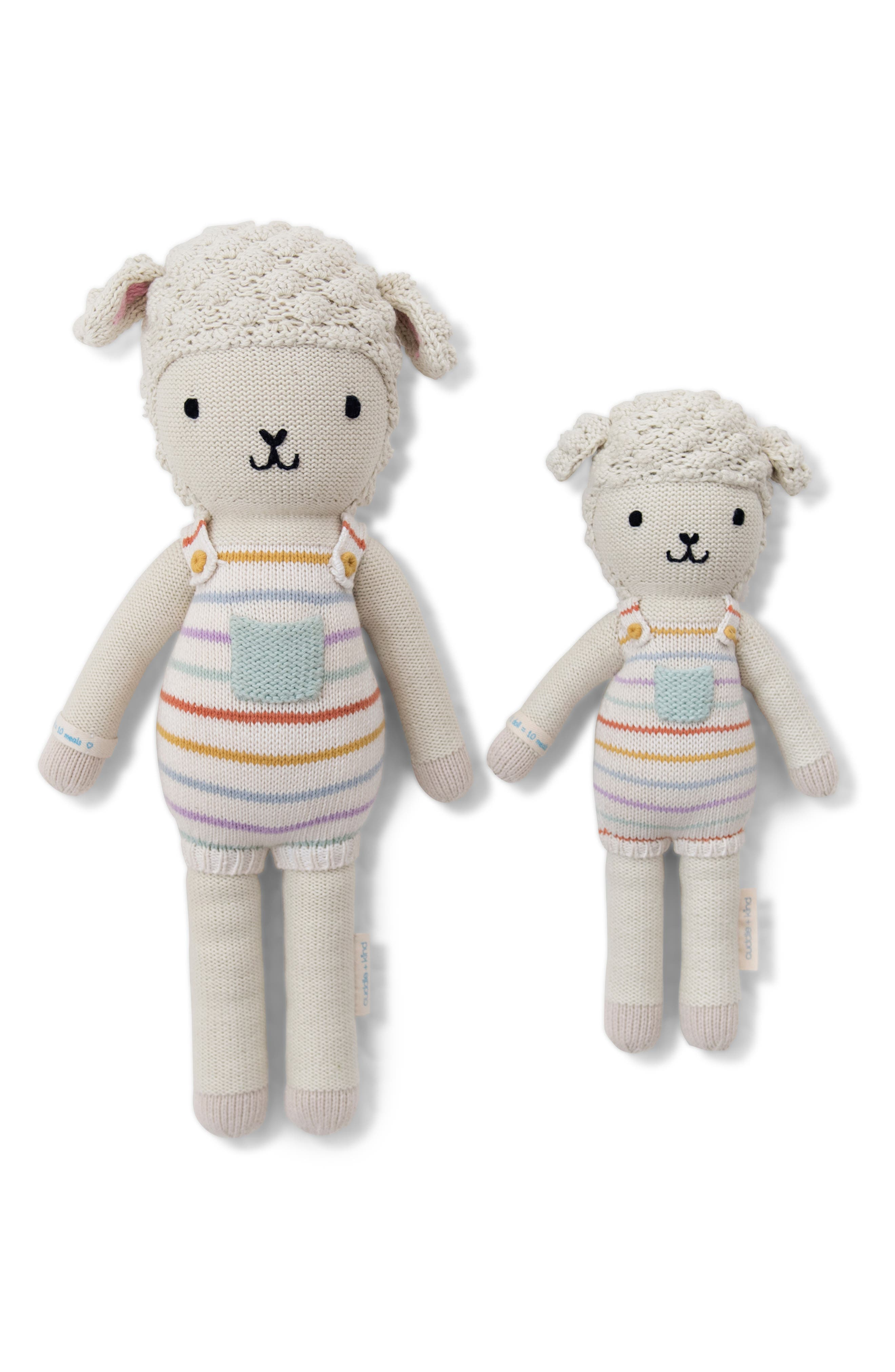 cuddle + kind Avery the Lamb Stuffed Animal,                             Main thumbnail 1, color,                             100