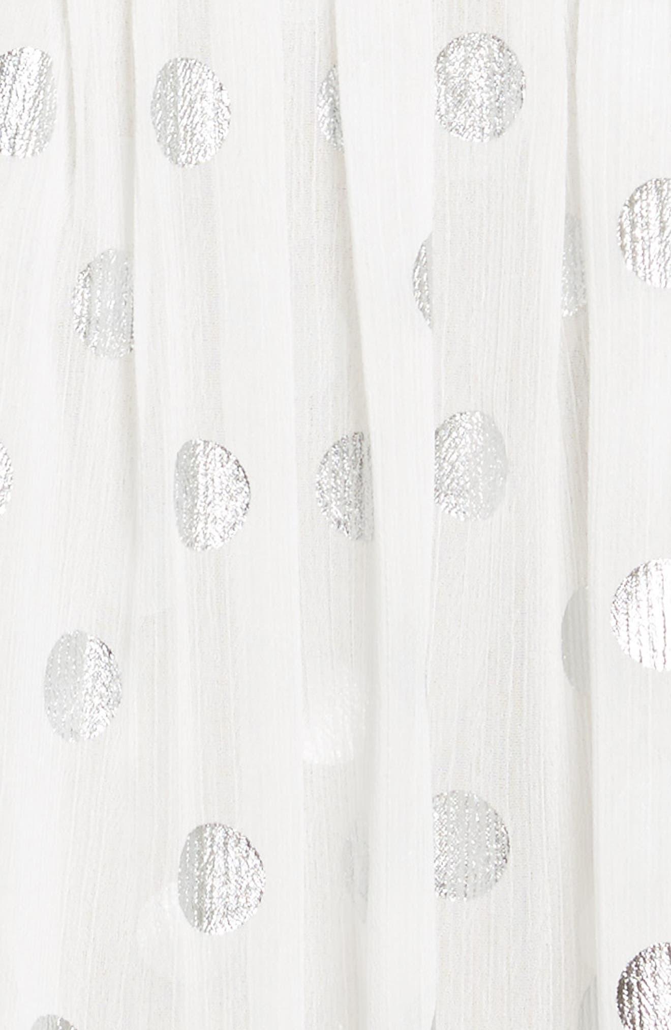 Asymmetric Gathered Short Sleeve Dress,                             Alternate thumbnail 5, color,                             110