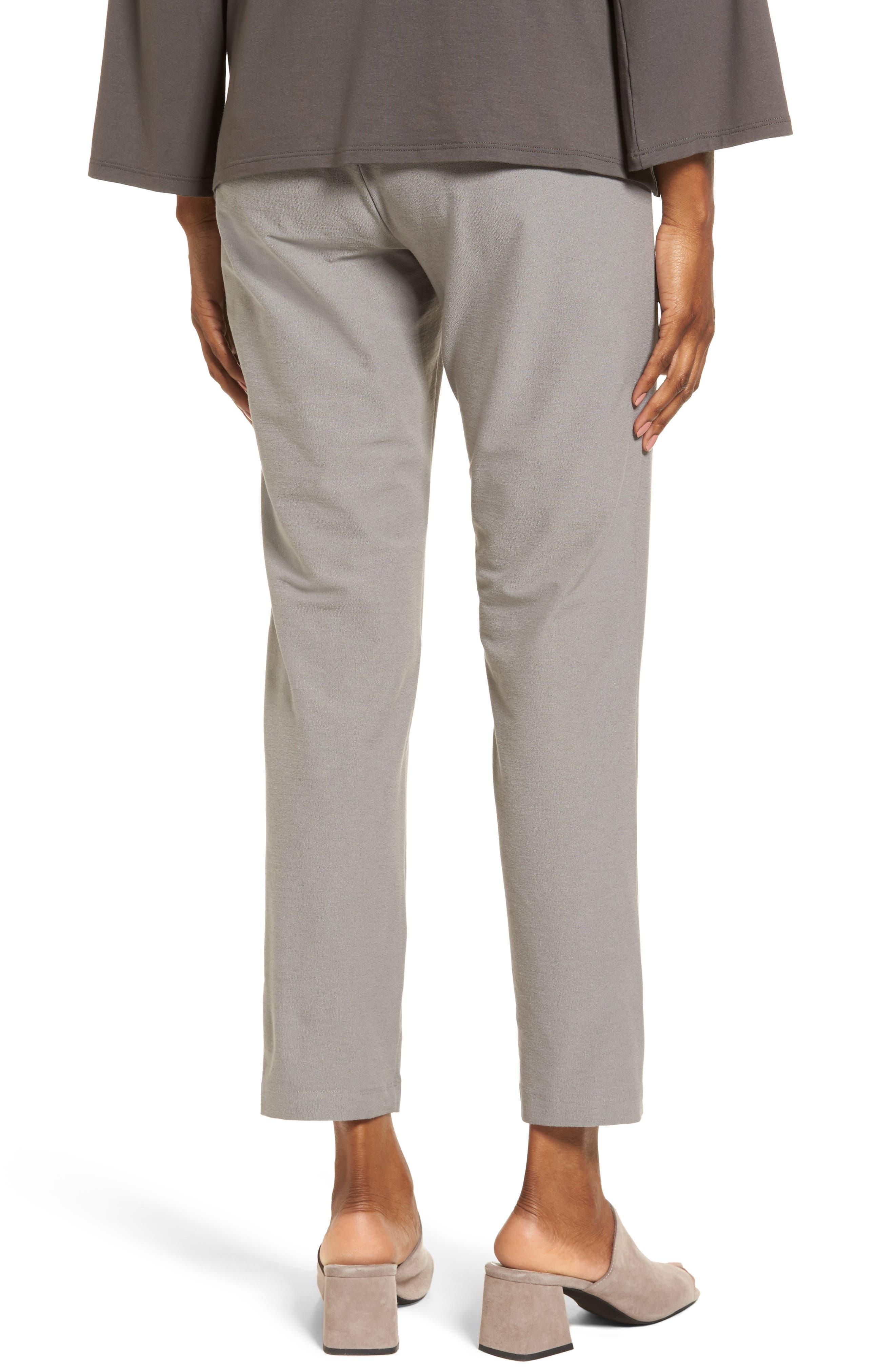 Stretch Crepe Slim Ankle Pants,                             Alternate thumbnail 40, color,