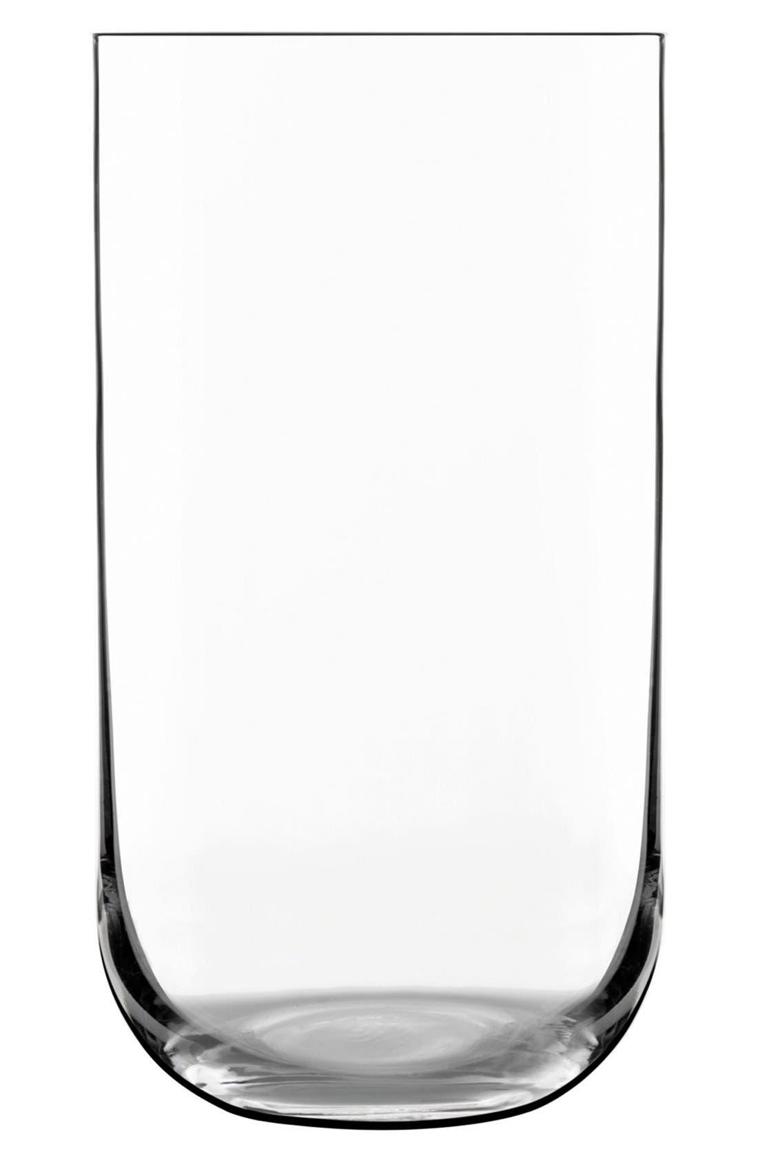 'Sublime' Beverage Glasses,                             Main thumbnail 1, color,                             CLEAR