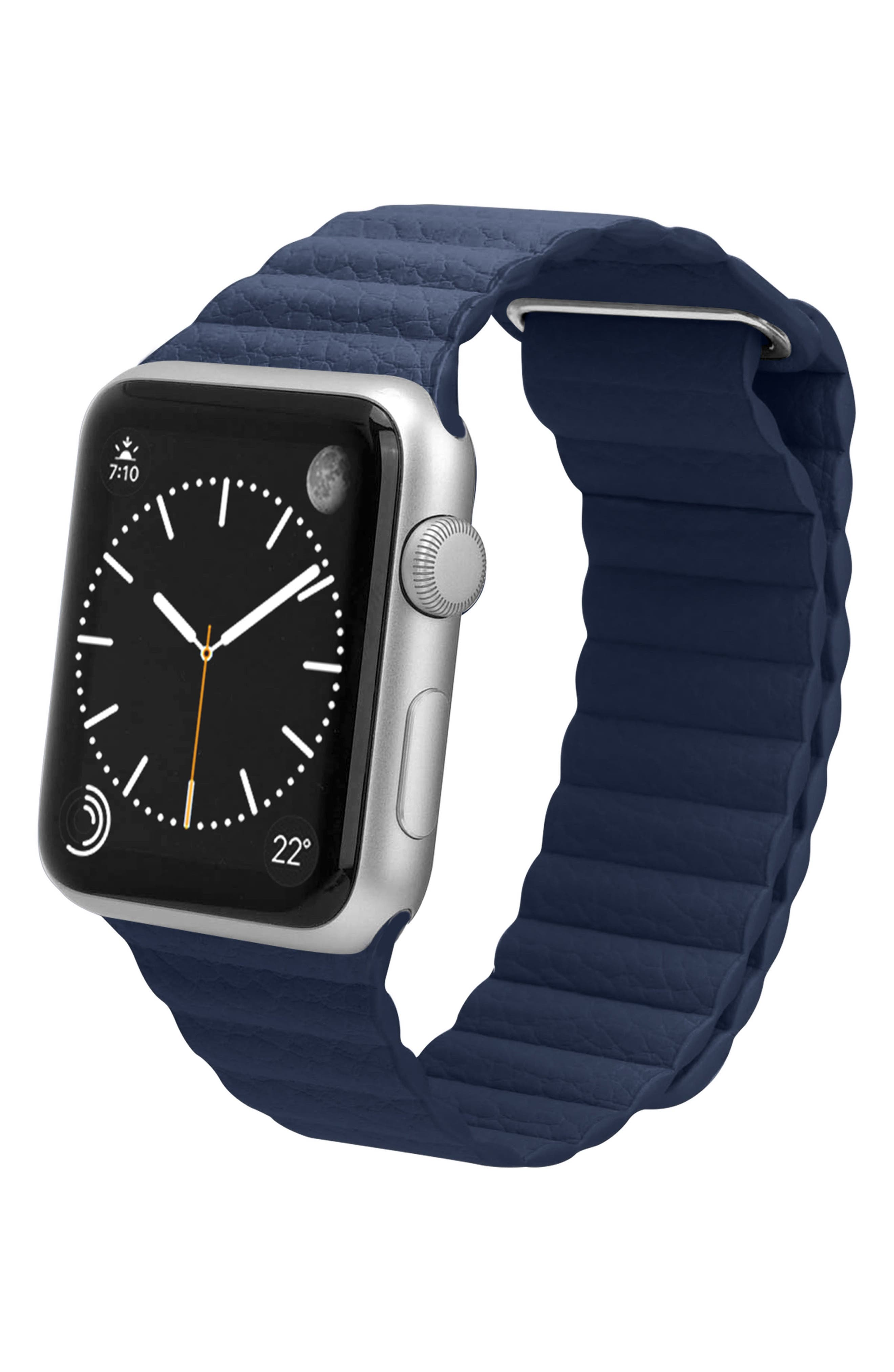 Magnetic Apple Watch Strap, 28mm,                             Alternate thumbnail 7, color,