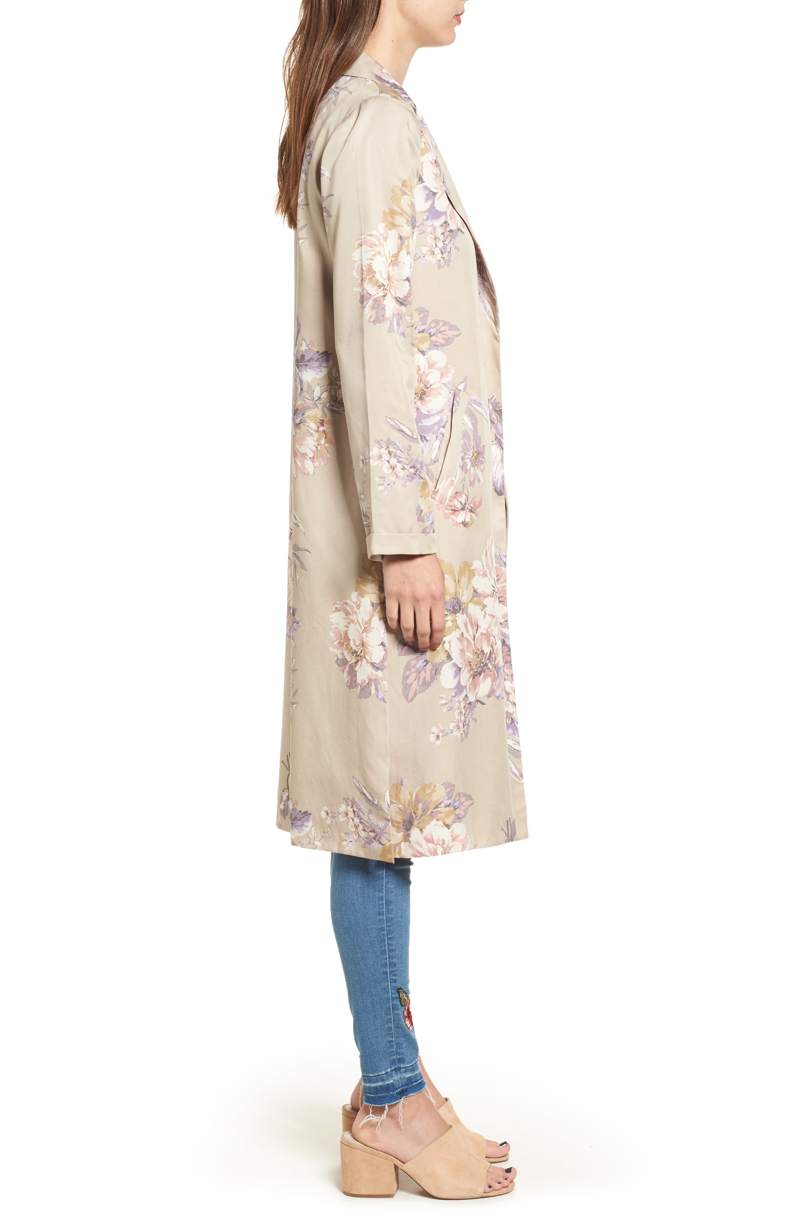 Floral Duster,                             Alternate thumbnail 3, color,                             270