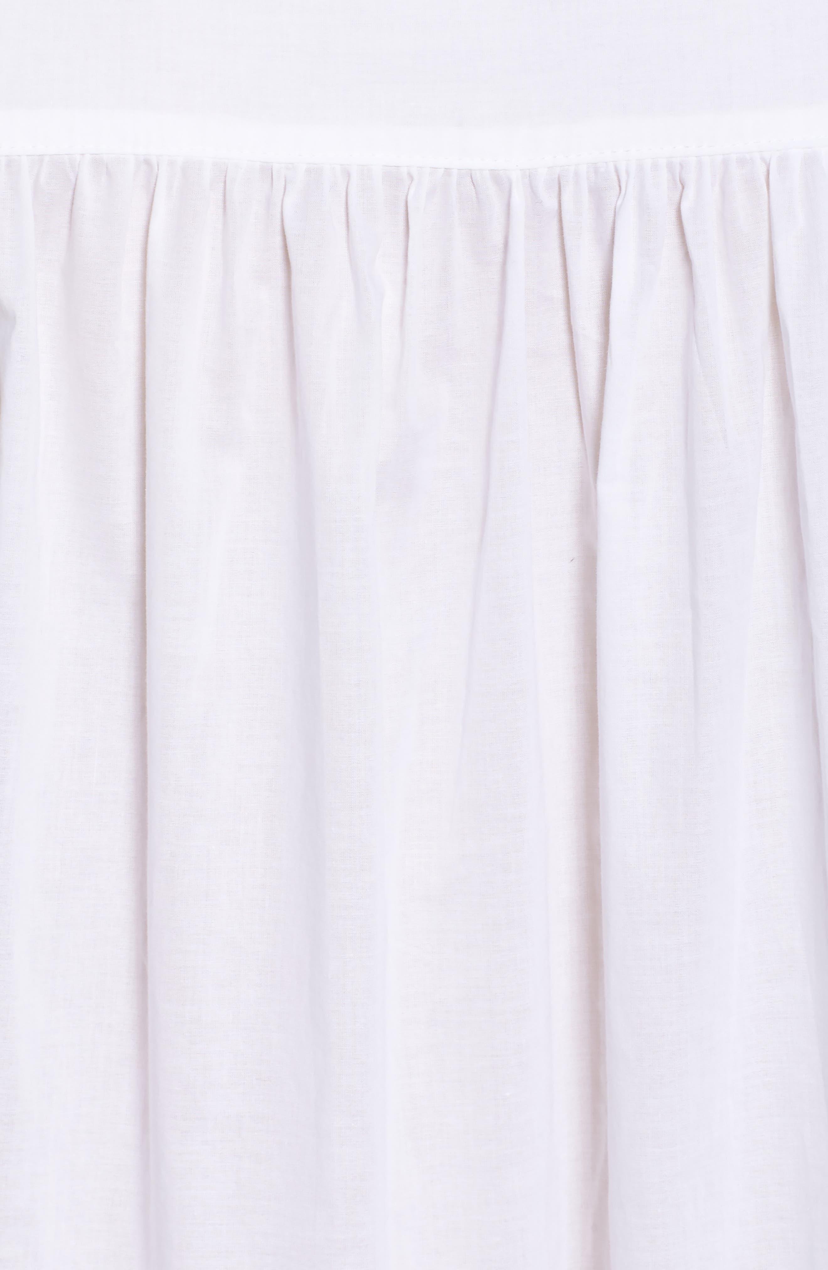 Cotton Chemise,                             Alternate thumbnail 5, color,                             100