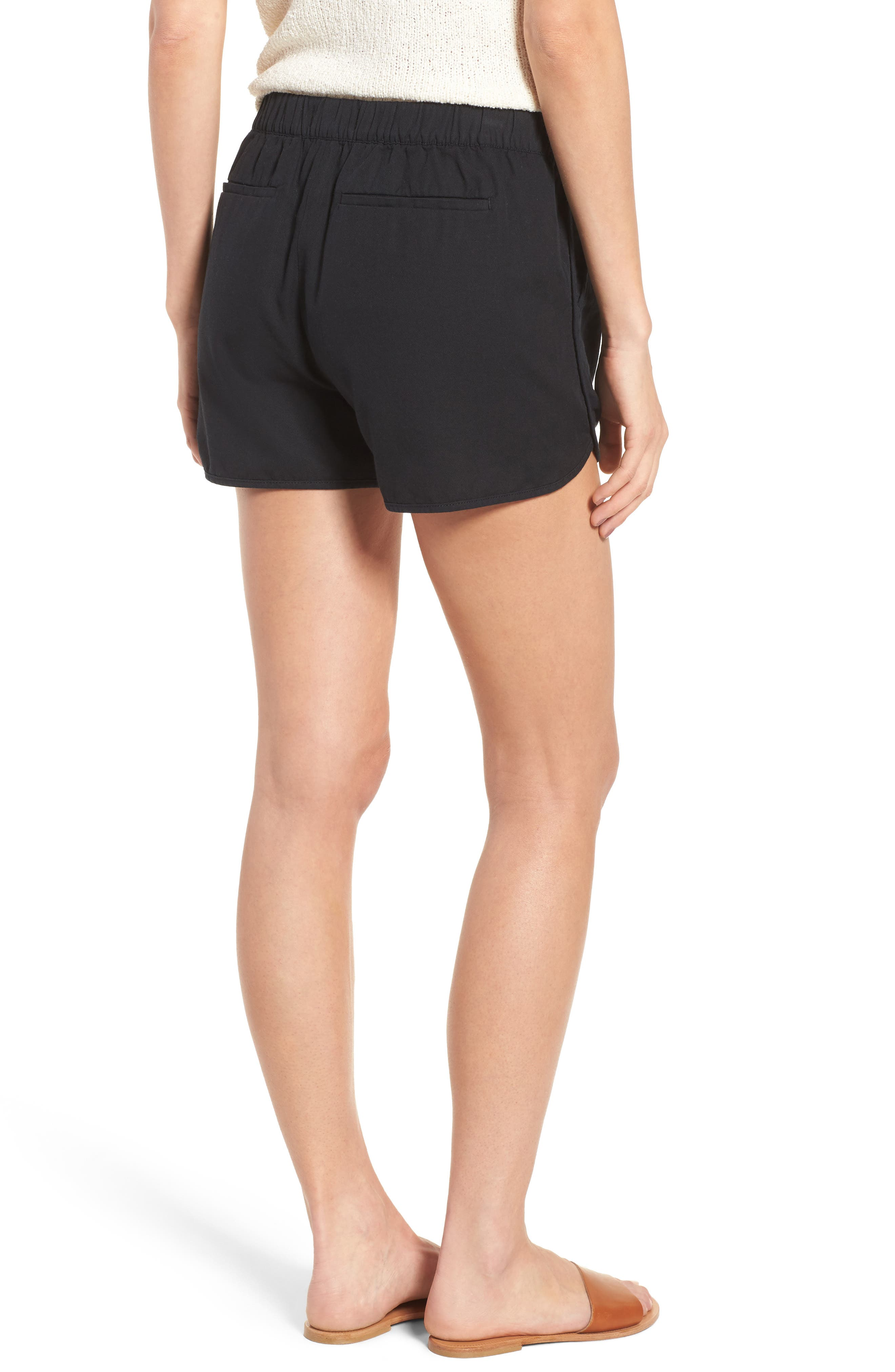 MADEWELL,                             Pull-On Shorts,                             Alternate thumbnail 2, color,                             001