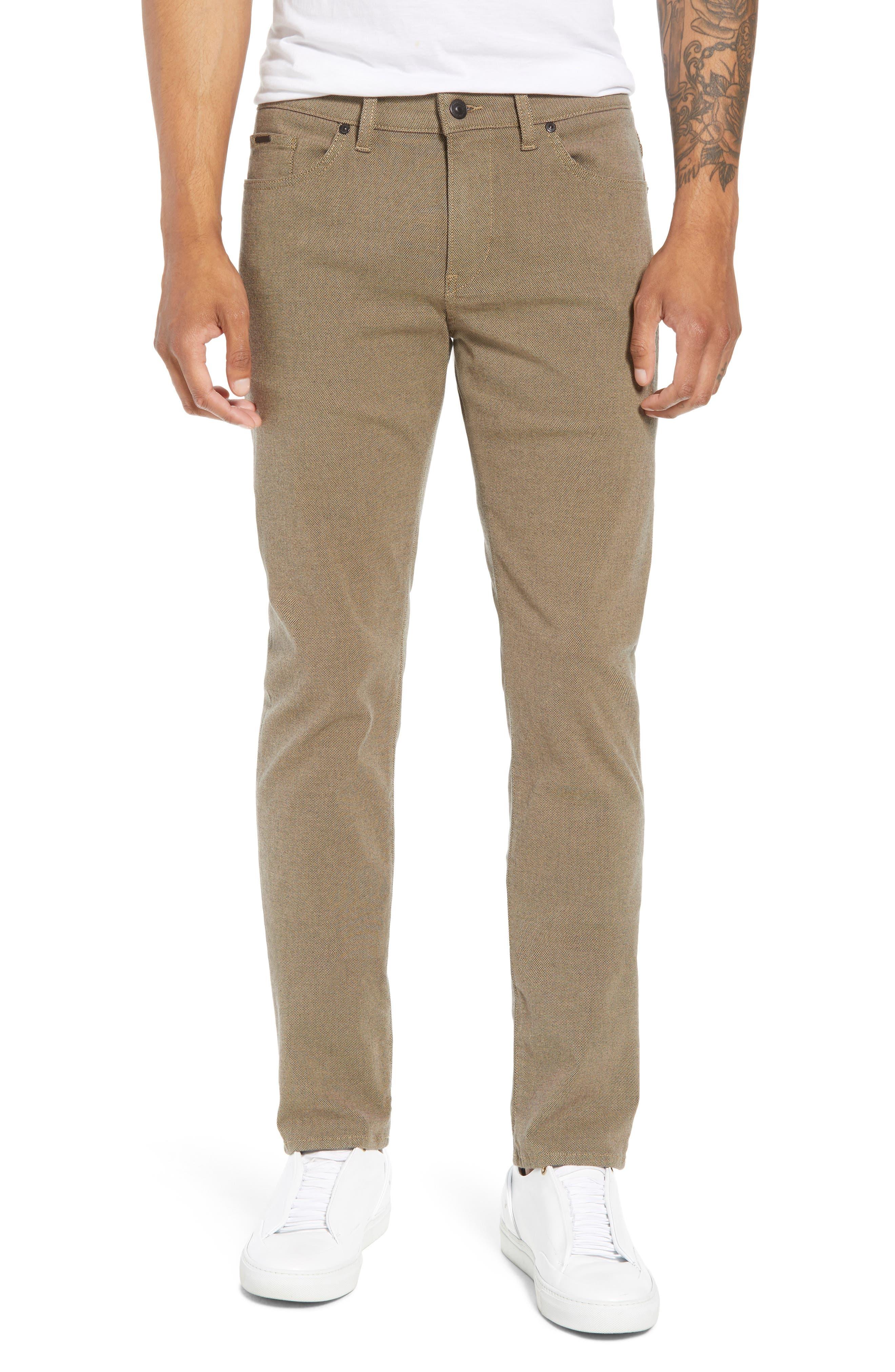 Delaware Slim Fit Pants,                             Main thumbnail 1, color,                             TAN