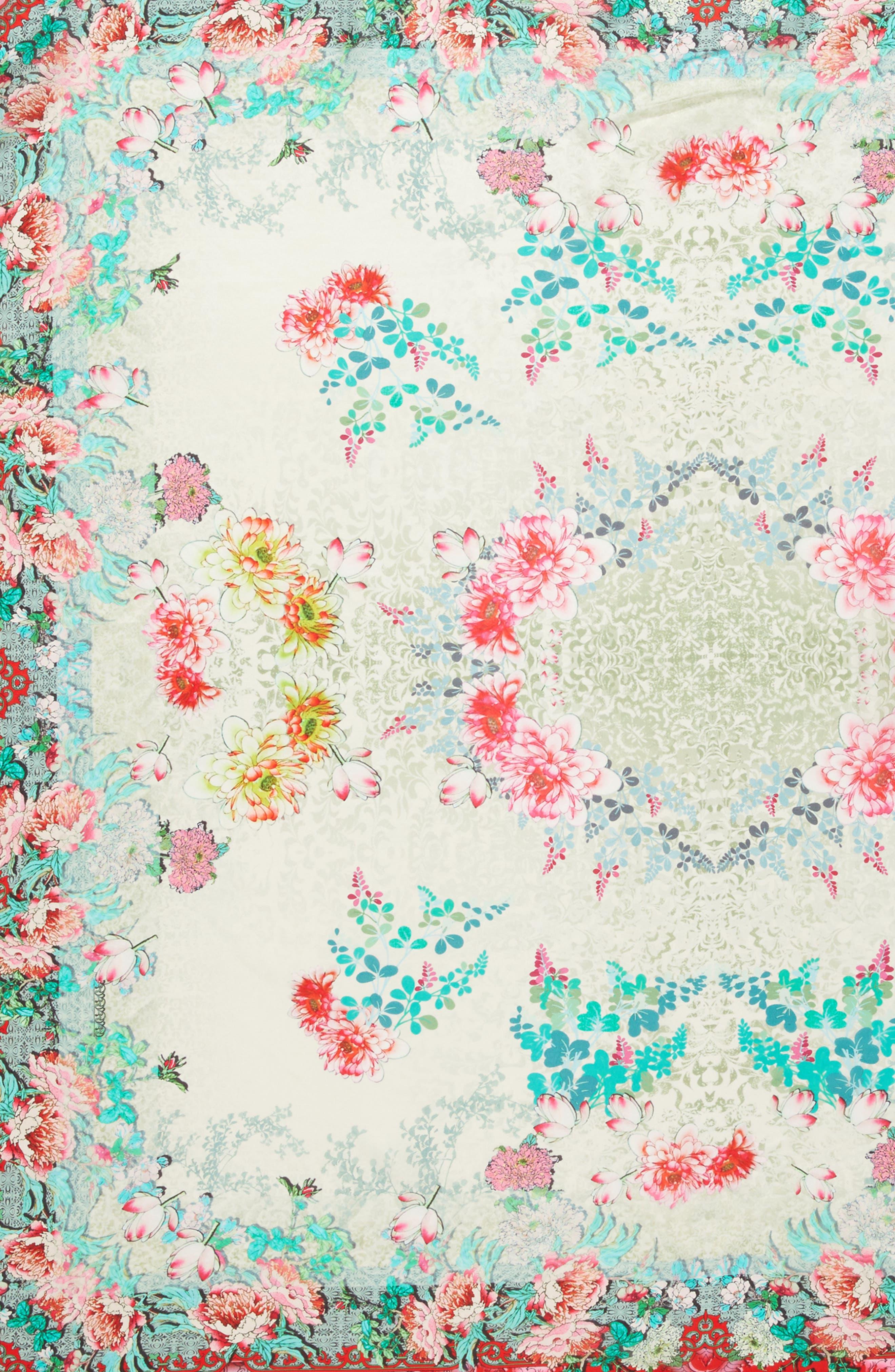 Whisper Silk Square Scarf,                             Alternate thumbnail 4, color,                             600