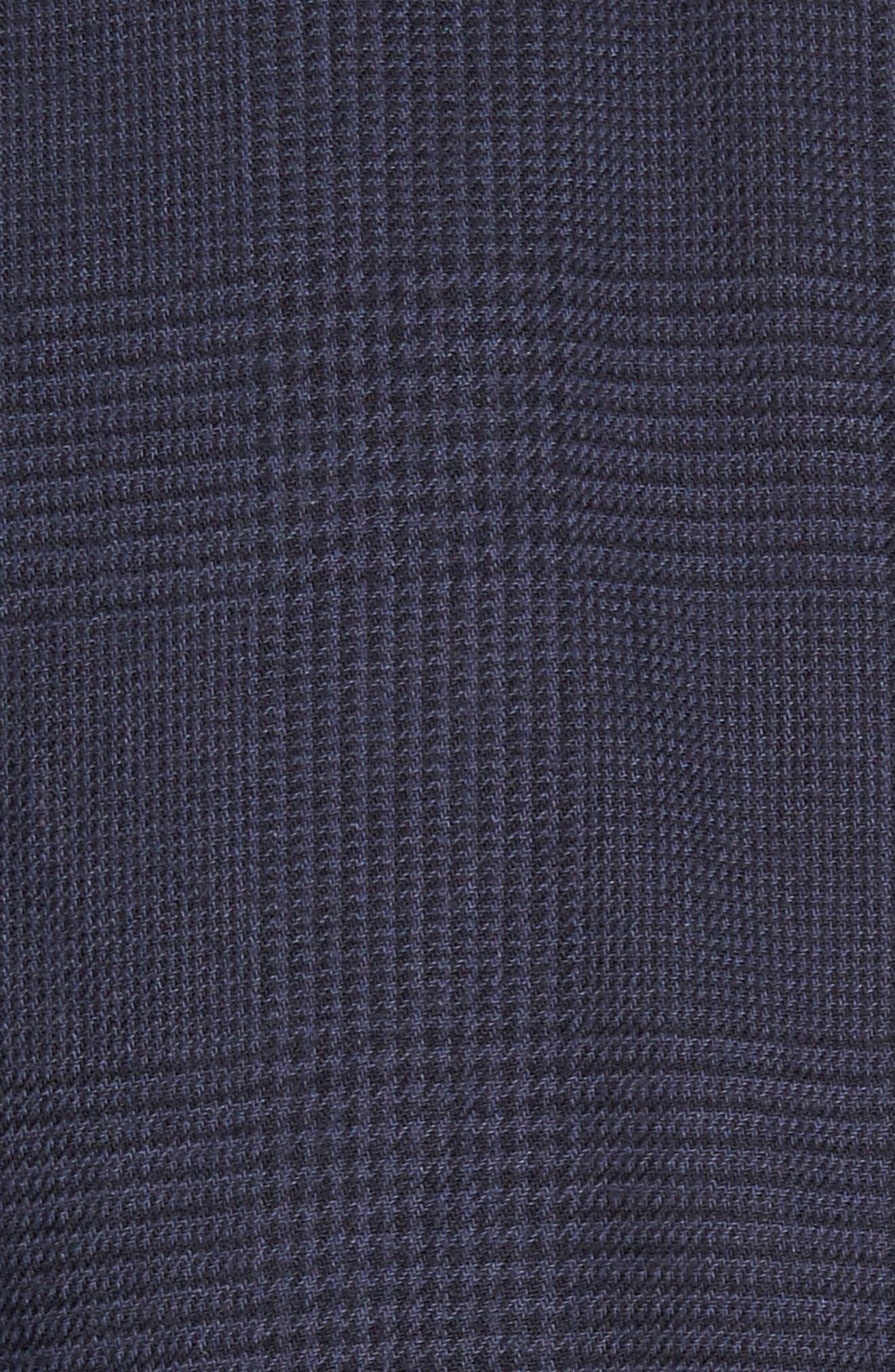 Overly Glen Plaid Sport Shirt,                             Alternate thumbnail 5, color,                             400