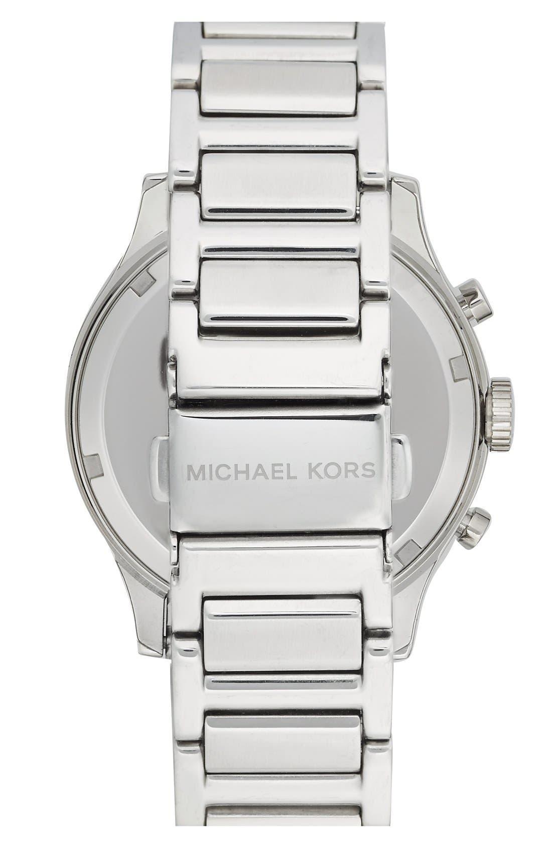 Michael Kors 'Bailey' Chronograph Bracelet Watch, 39mm,                             Alternate thumbnail 3, color,                             040