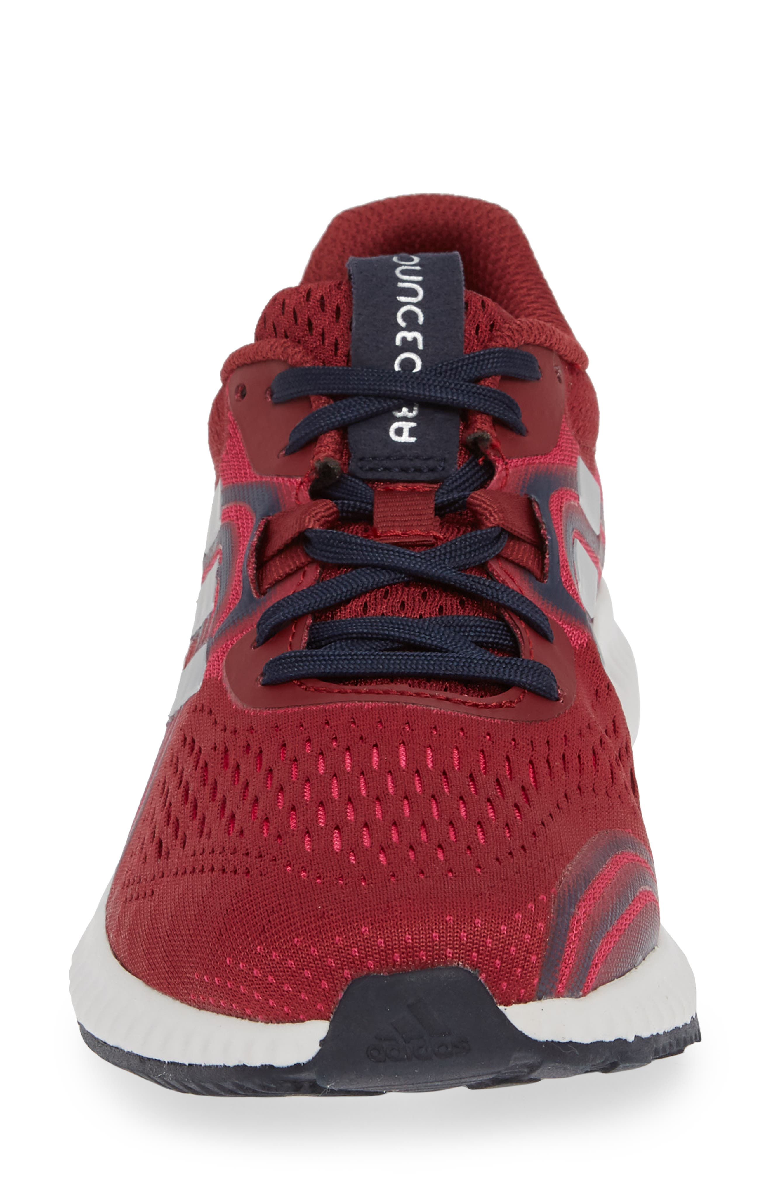 AeroBounce 2 Running Shoe,                             Alternate thumbnail 4, color,                             NOBLE MAROON/ SILVER/ MAGENTA