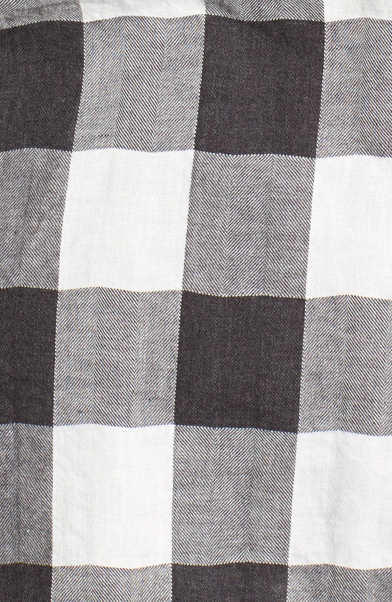 Buffalo Plaid Boy Shirt,                             Alternate thumbnail 5, color,                             090