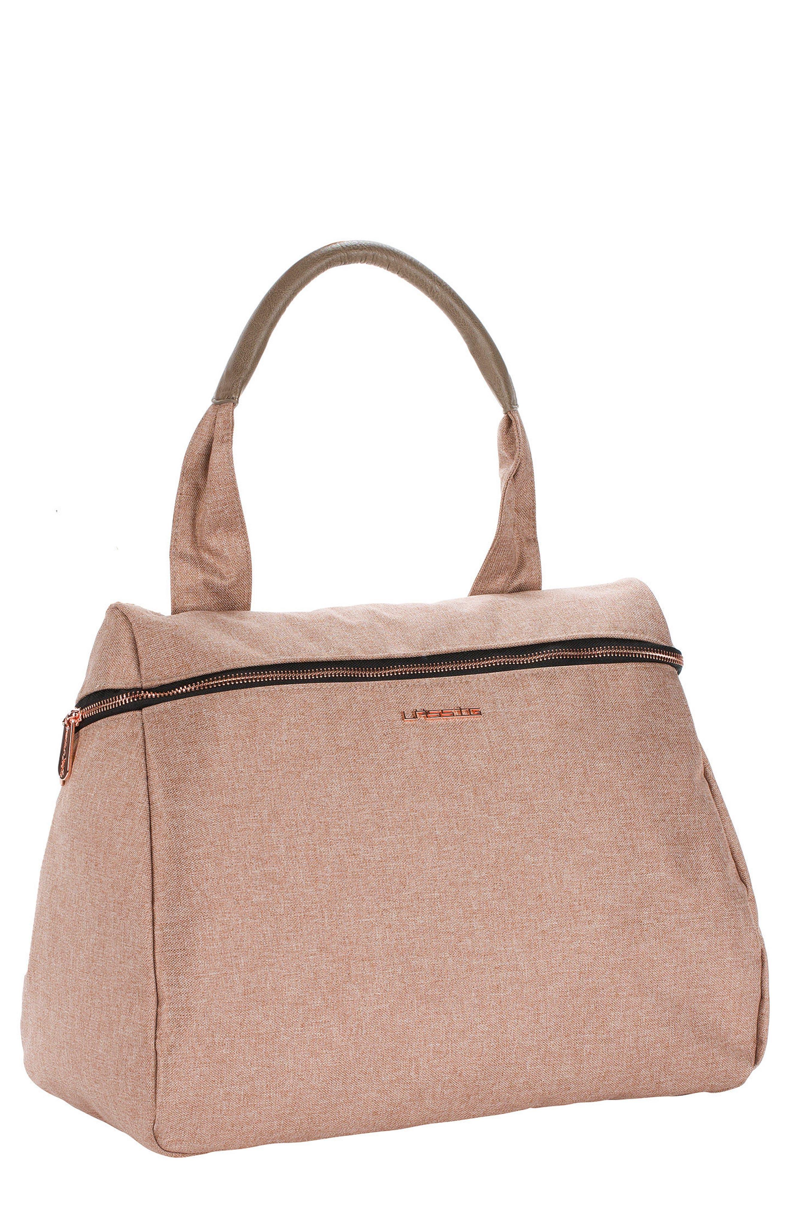 Infant Lassig Glam Rosie Diaper Bag  Pink