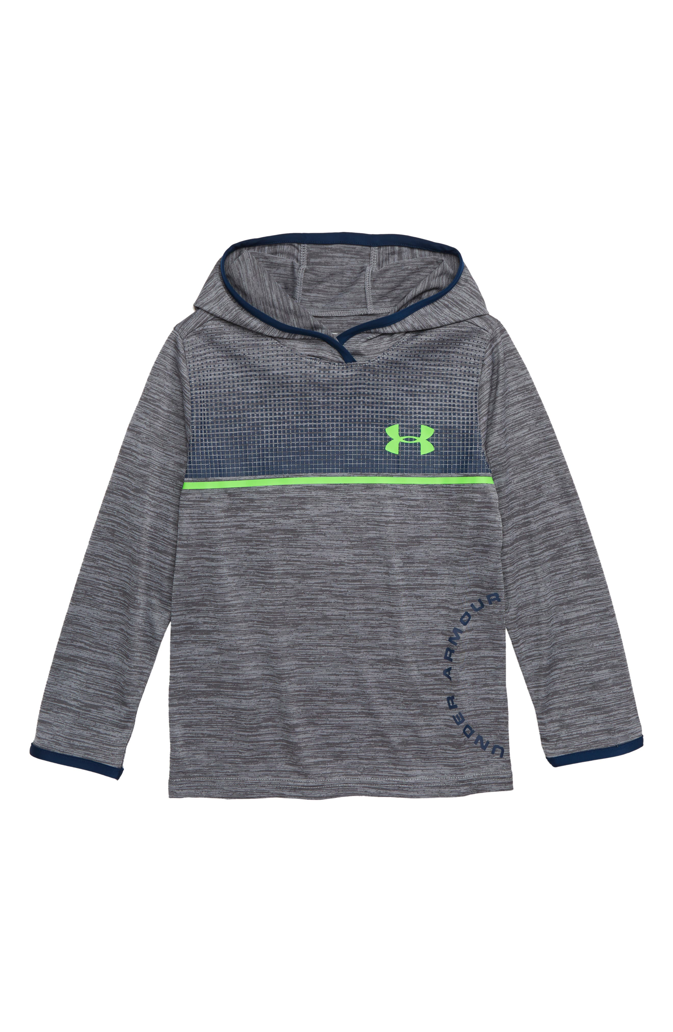 Boys Under Armour Amped Twist Hooded Pullover