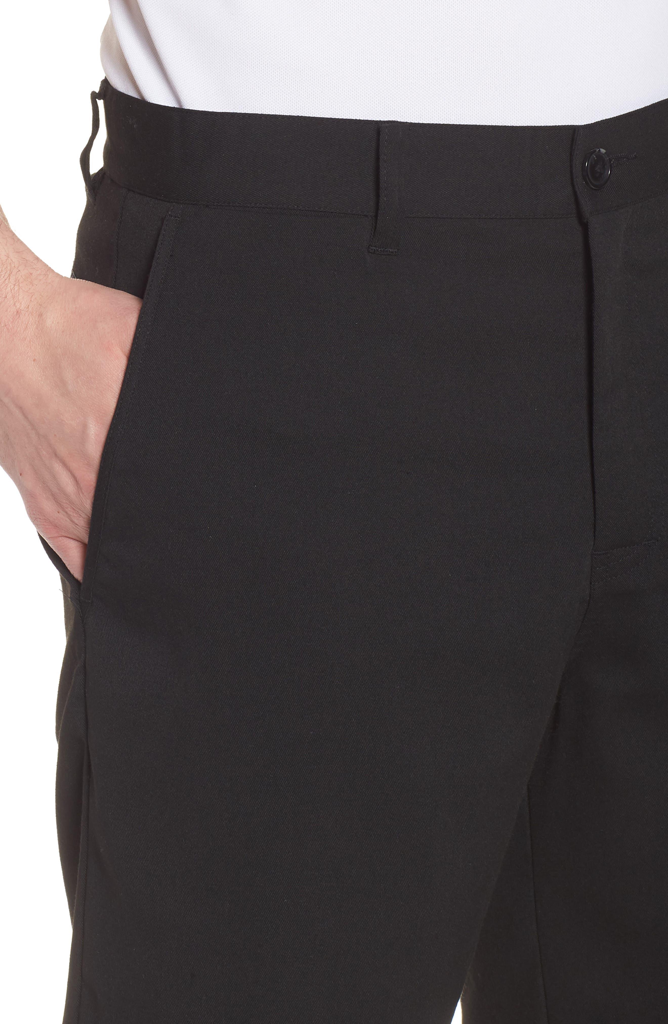 Puebla Stretch Shorts,                             Alternate thumbnail 4, color,                             BLACK