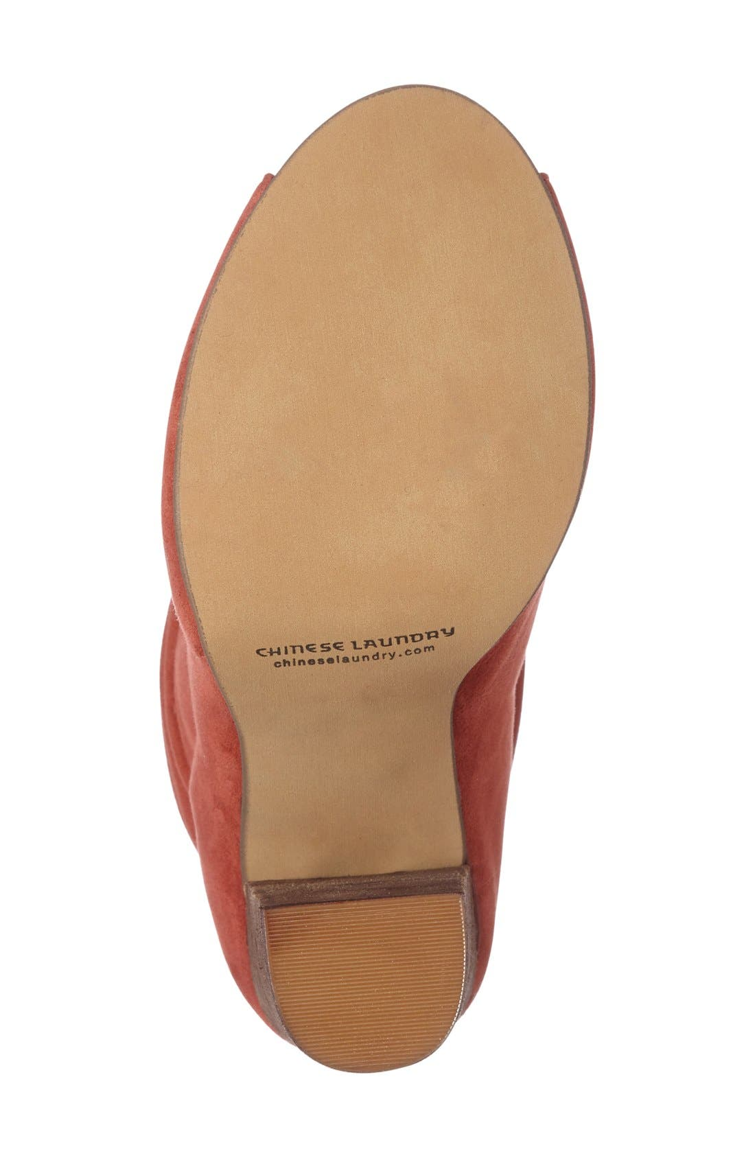 'Laurel' Peep Toe Bootie,                             Alternate thumbnail 18, color,