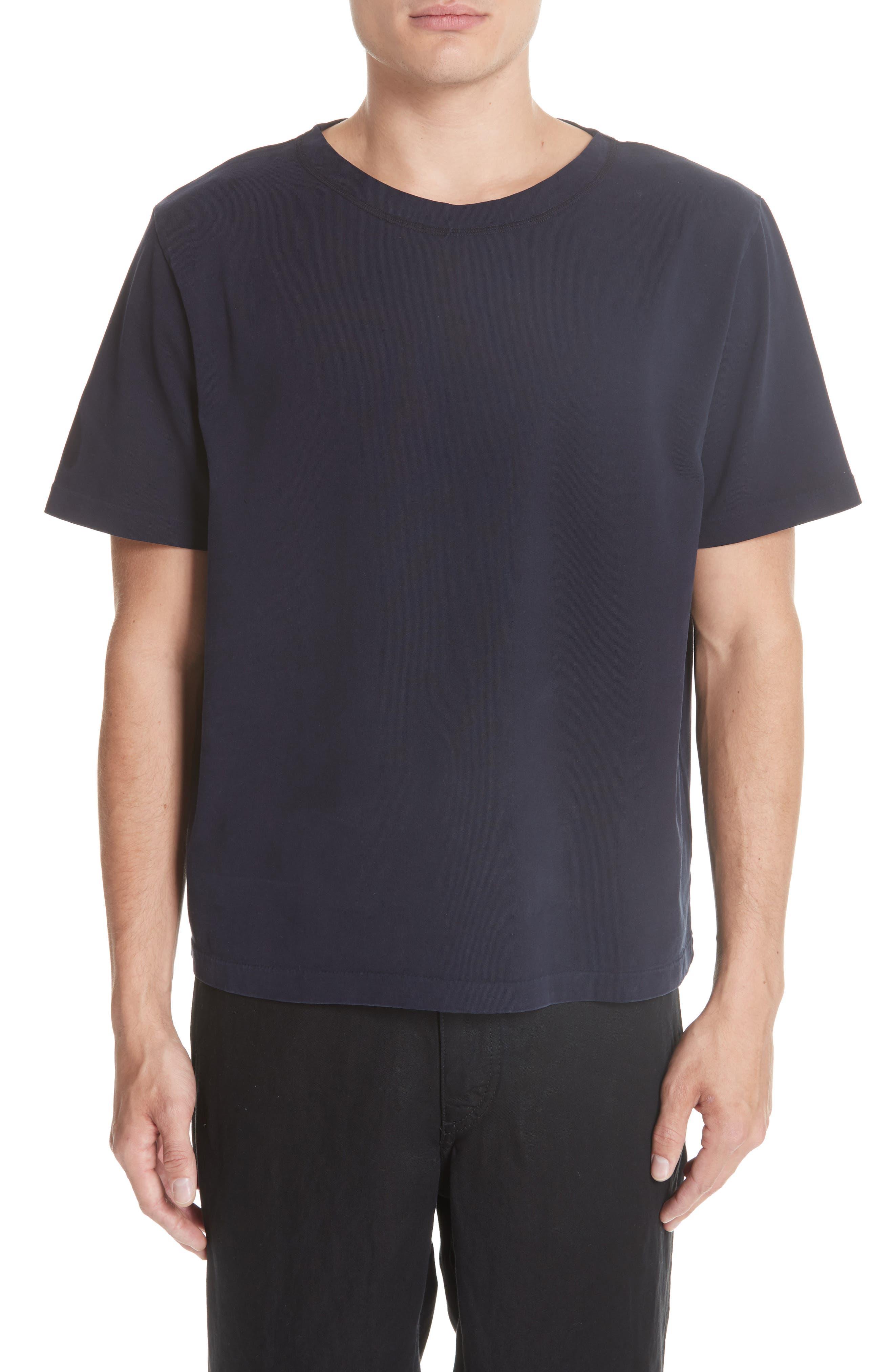 Clean Box T-Shirt,                         Main,                         color, NAVY