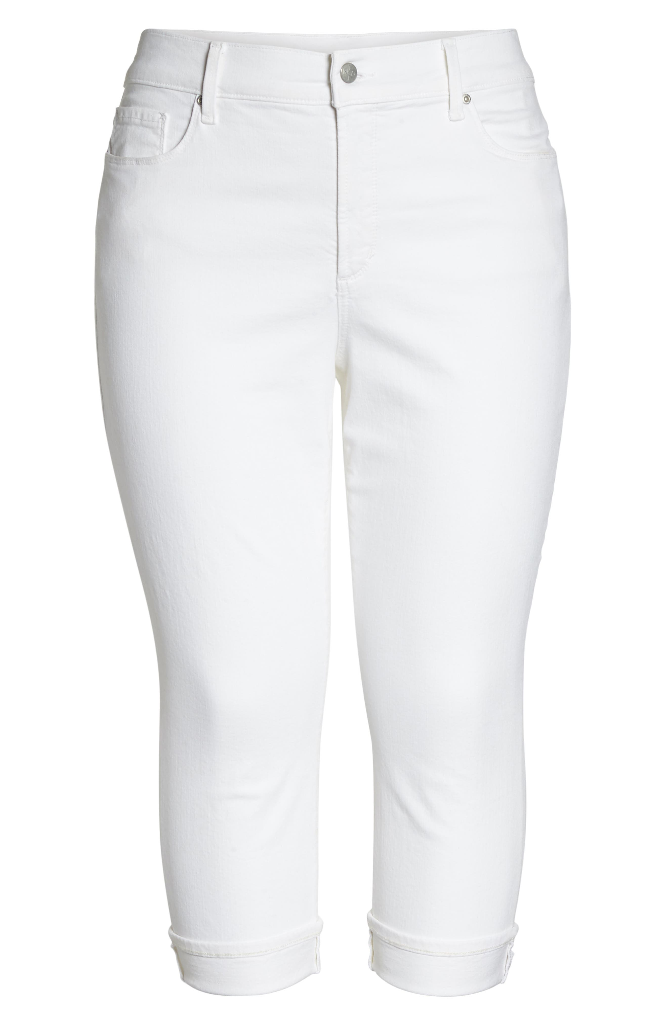 Stretch Straight Leg Jeans,                             Alternate thumbnail 6, color,                             114