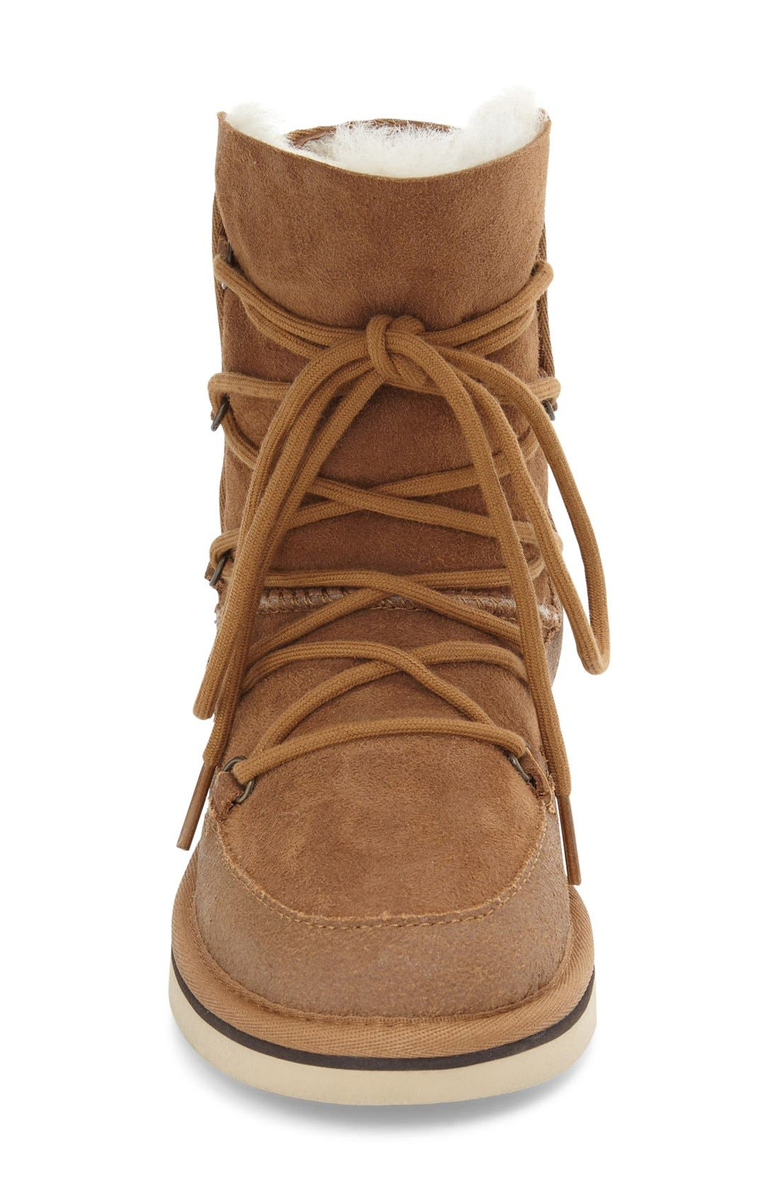 Eliss Water Resistant Suede Boot,                             Alternate thumbnail 9, color,