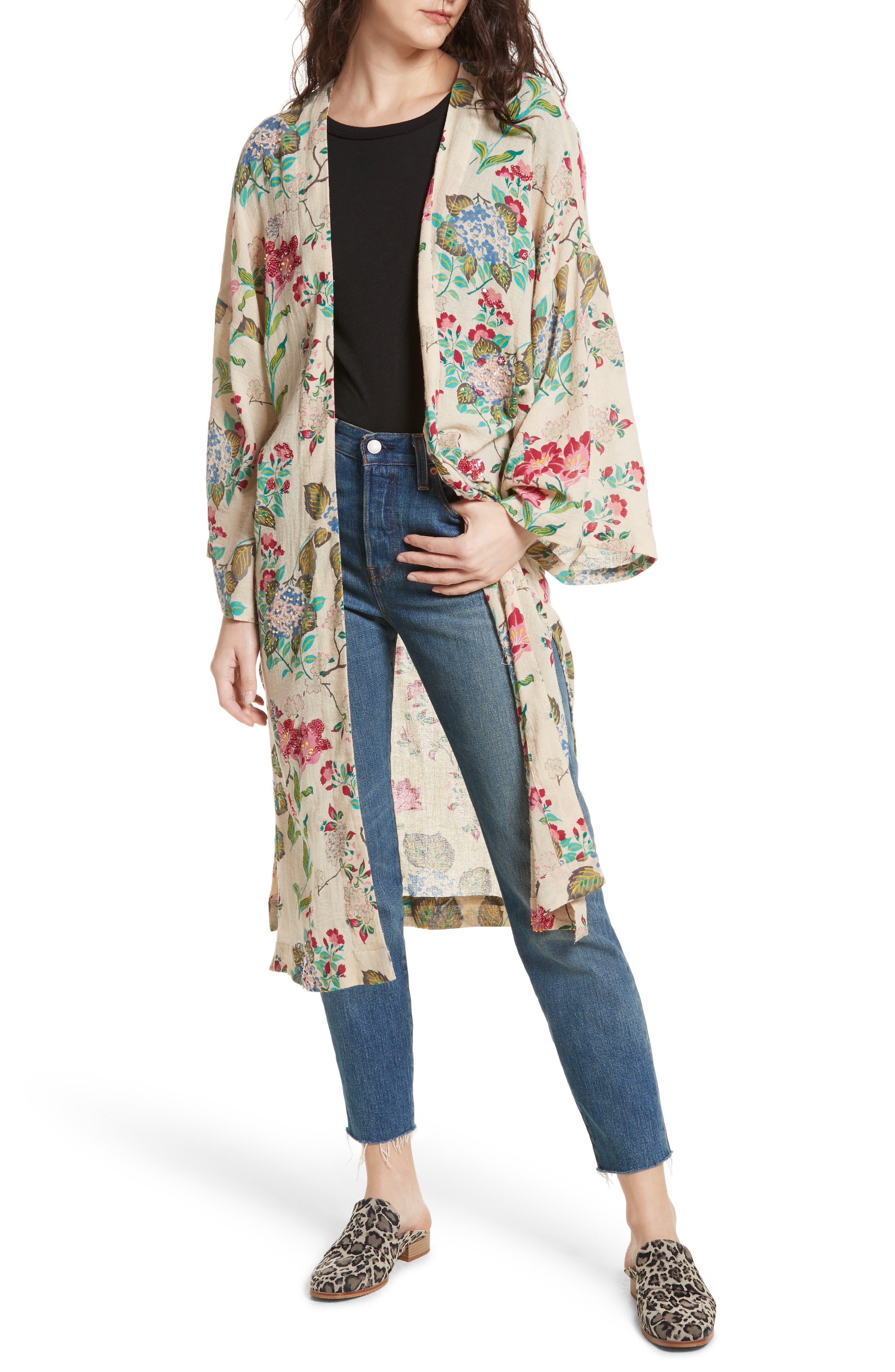 Latimer Kimono,                             Main thumbnail 1, color,                             901