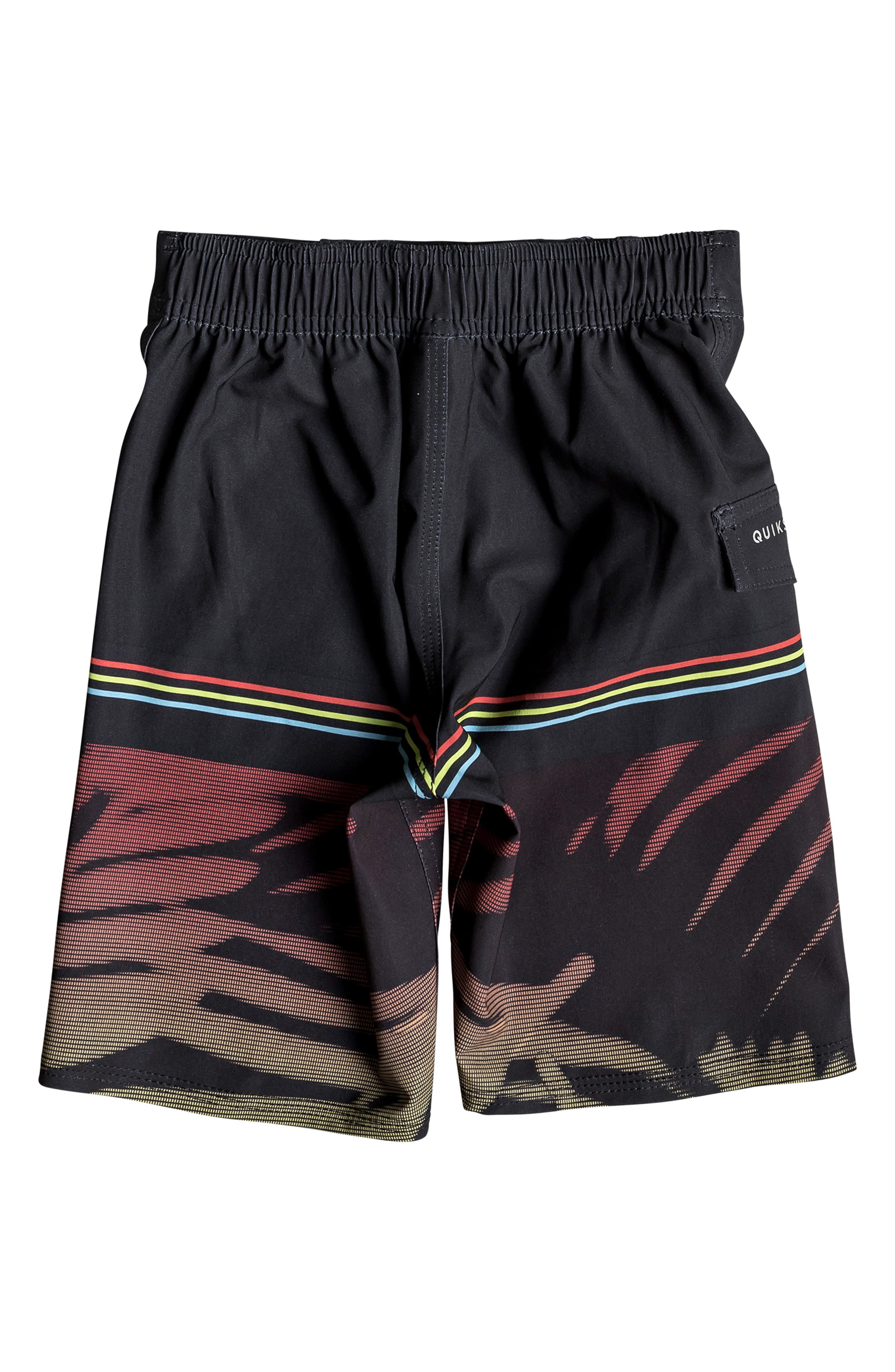 Highline Zen Board Shorts,                             Alternate thumbnail 2, color,                             BLACK