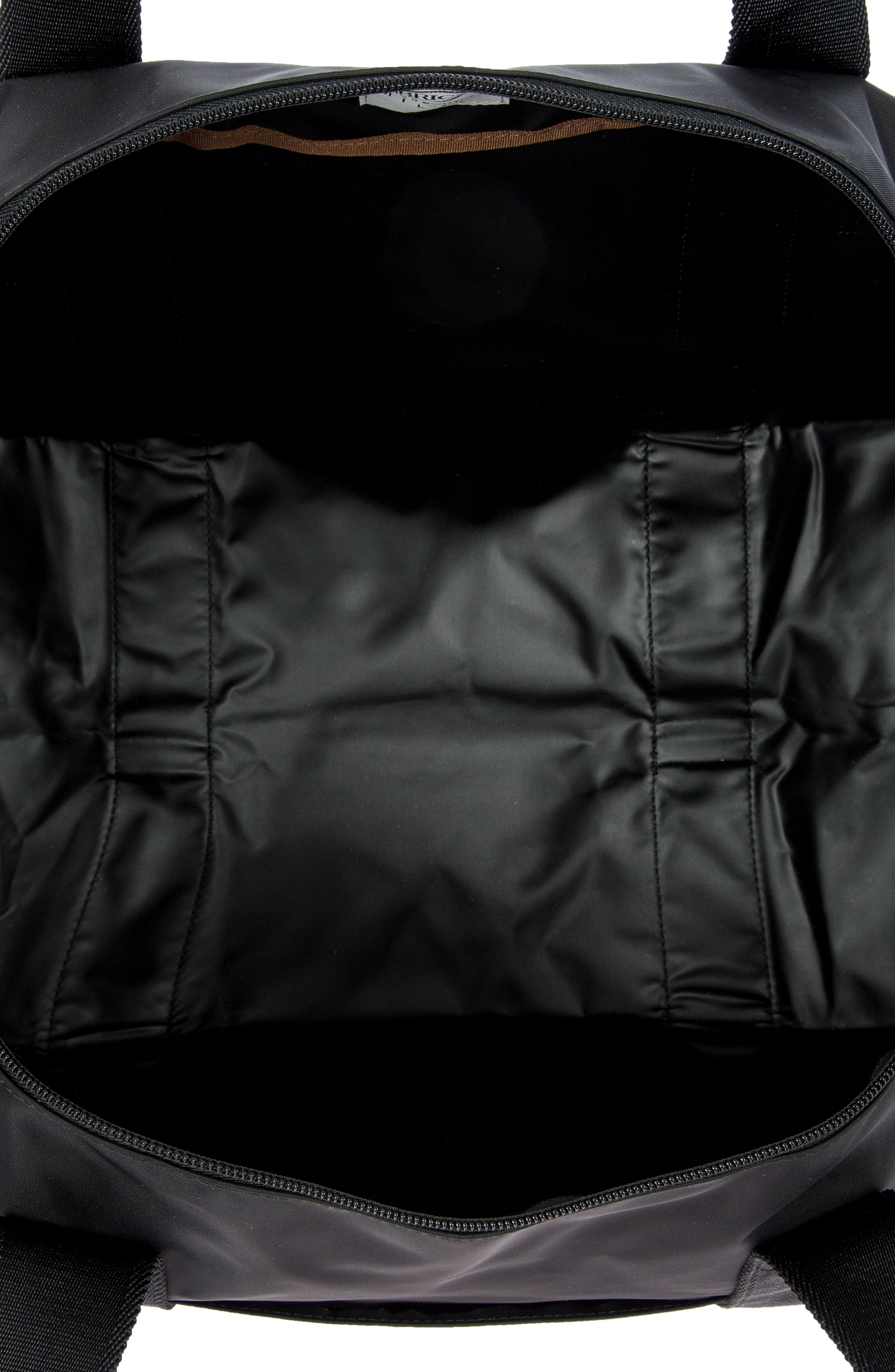 X-Bag 18-Inch Folding Duffel Bag,                             Alternate thumbnail 3, color,                             BLACK