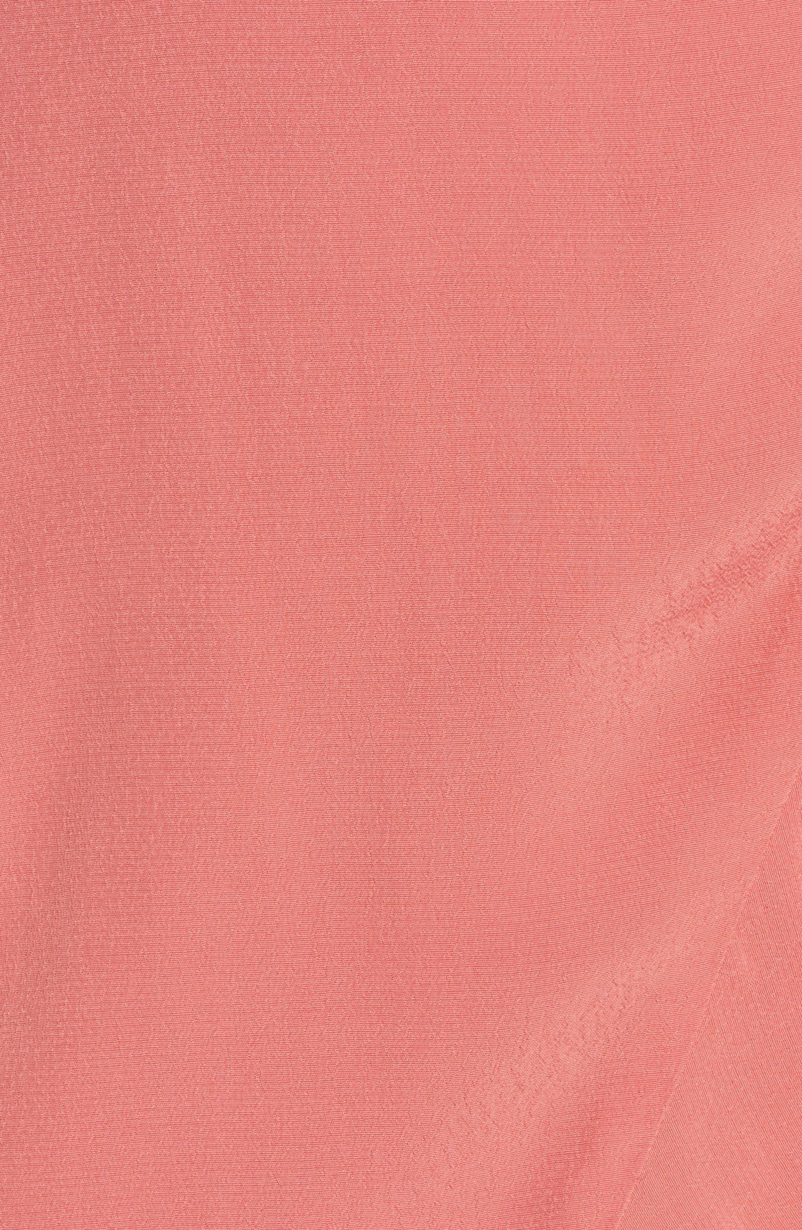 Flounce Wrap Midi Dress,                             Alternate thumbnail 19, color,