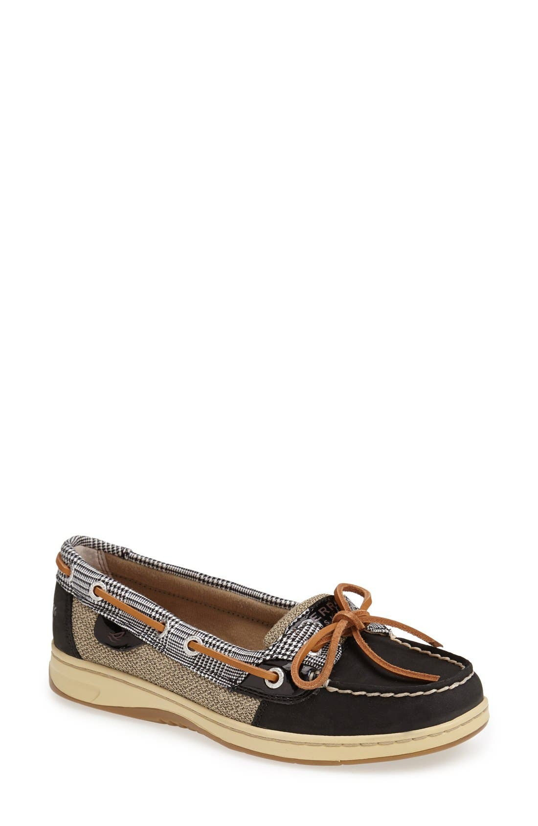Top-Sider<sup>®</sup> 'Angelfish' Boat Shoe, Main, color, 001