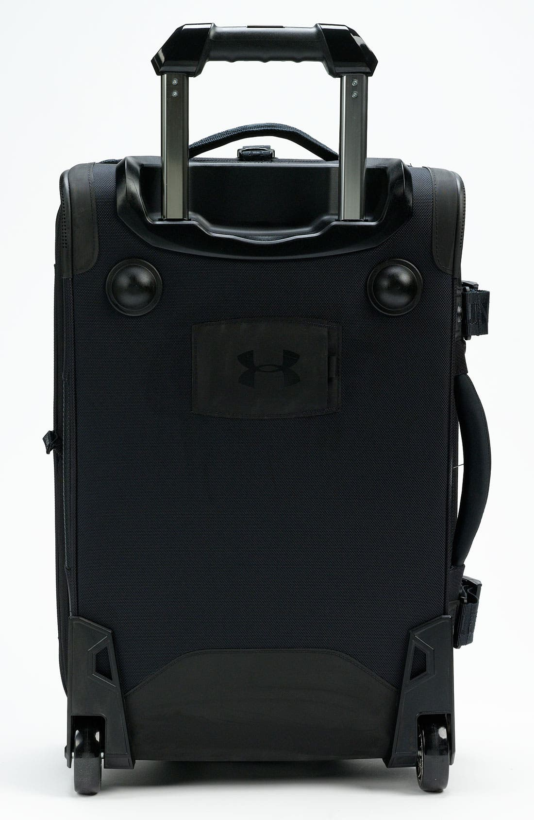 'Elite' Rolling Carry-On,                             Alternate thumbnail 3, color,                             001