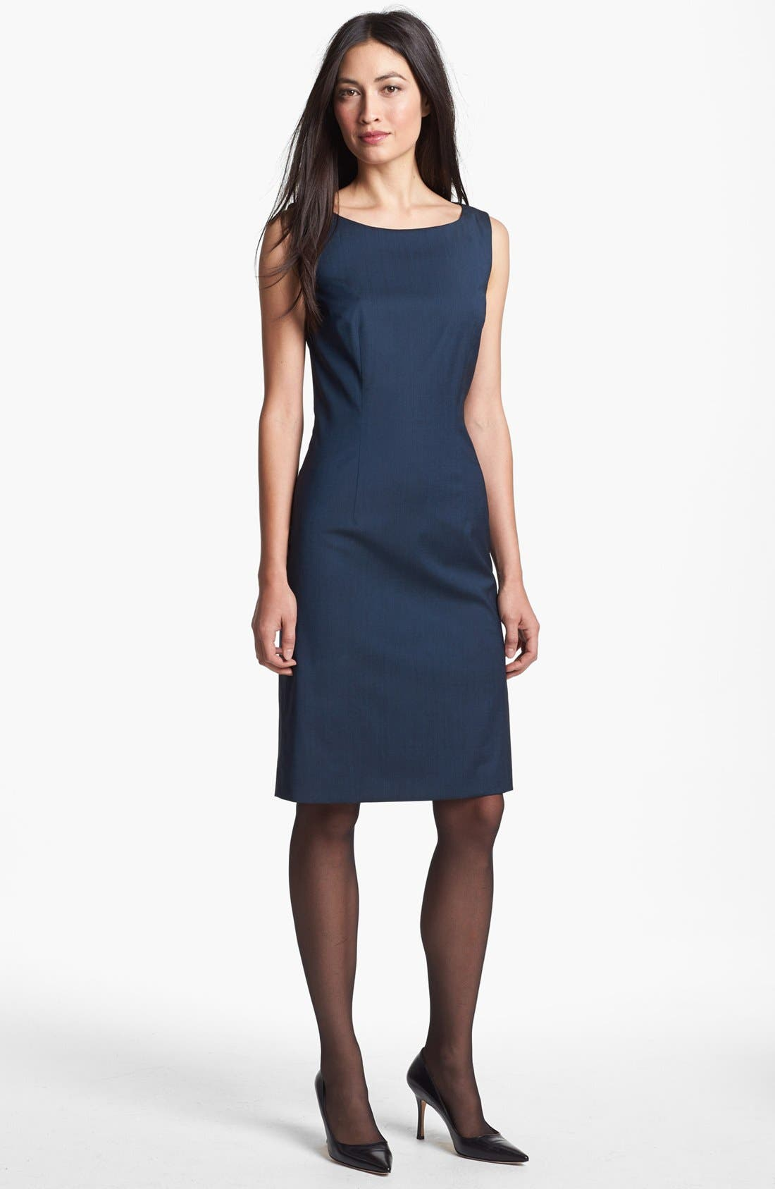 BOSS,                             HUGO BOSS 'Dinoma 1' Sheath Dress,                             Main thumbnail 1, color,                             441