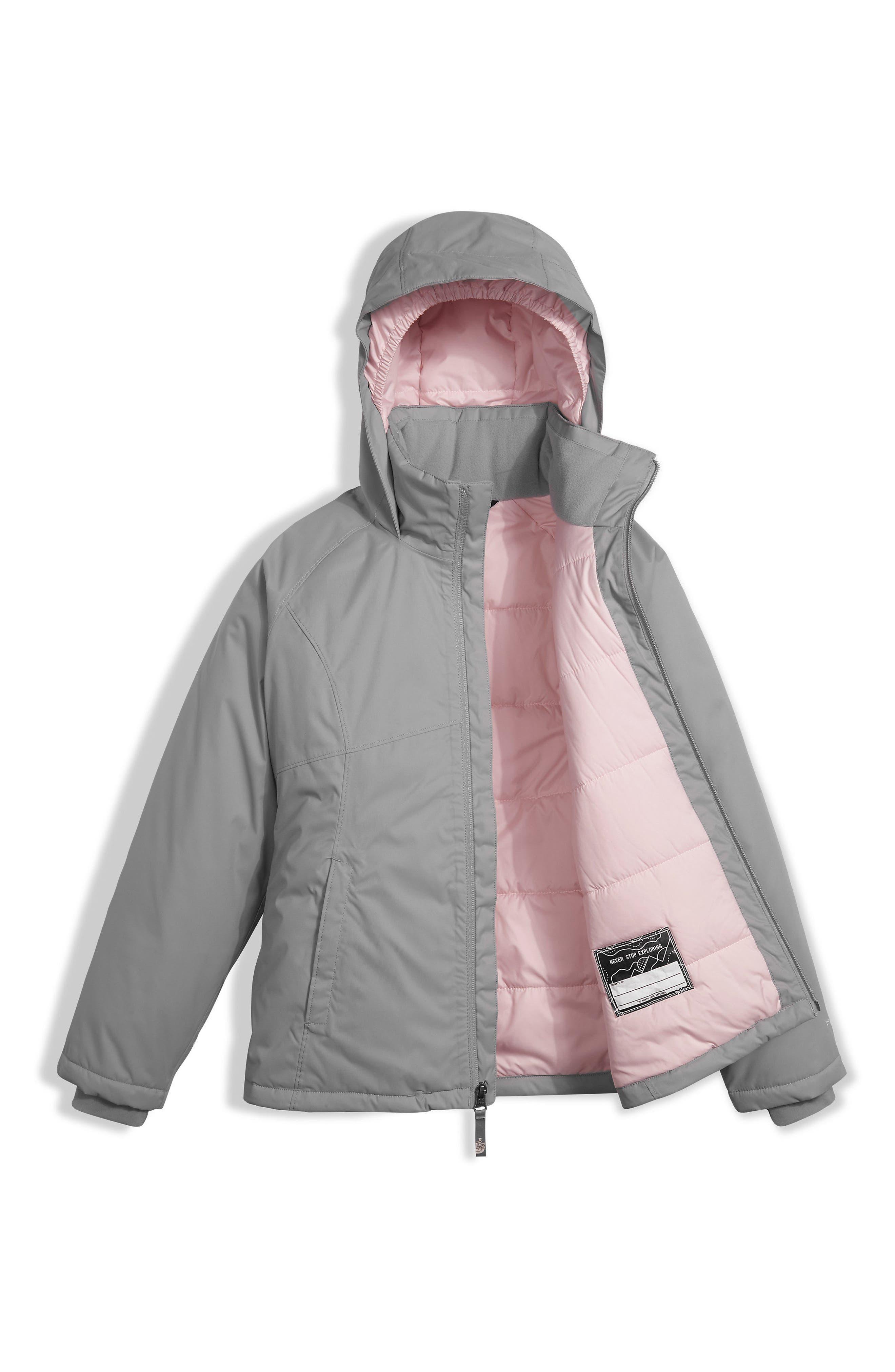 Near & Far Waterproof Heatseeker<sup>™</sup> Insulated Hooded Jacket,                             Alternate thumbnail 3, color,                             021