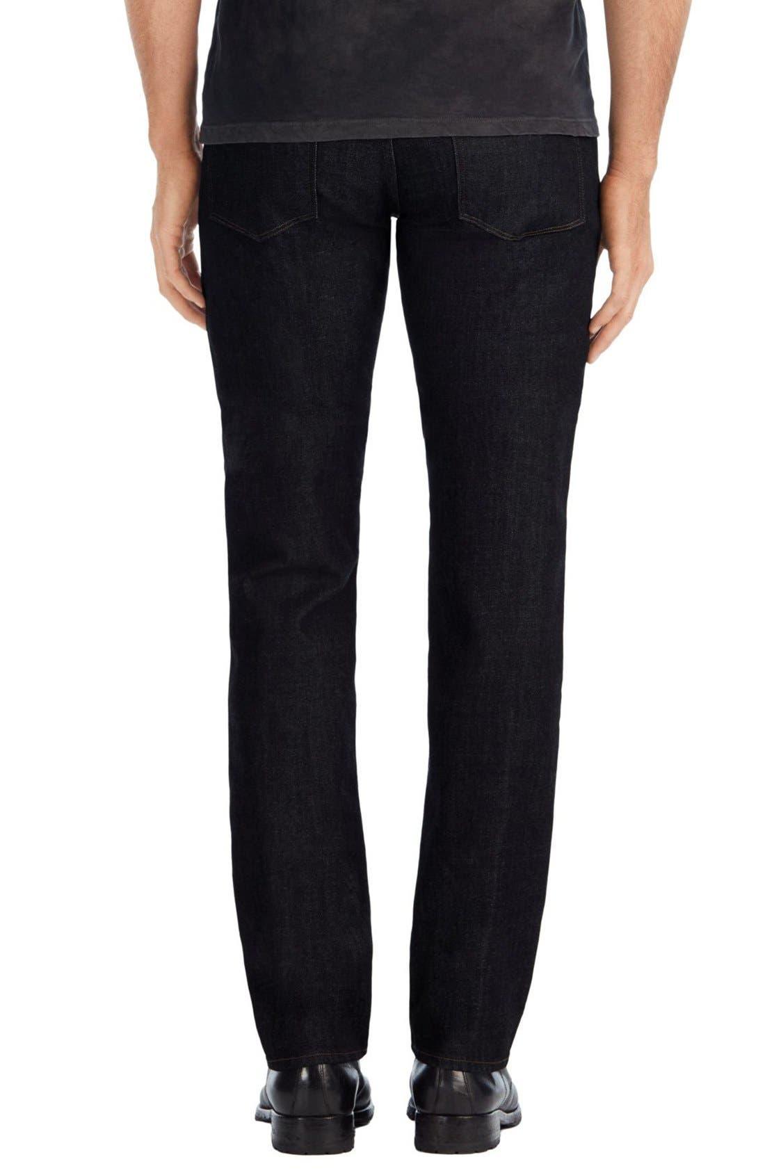 Kane Slim Straight Leg Jeans,                             Alternate thumbnail 6, color,                             410