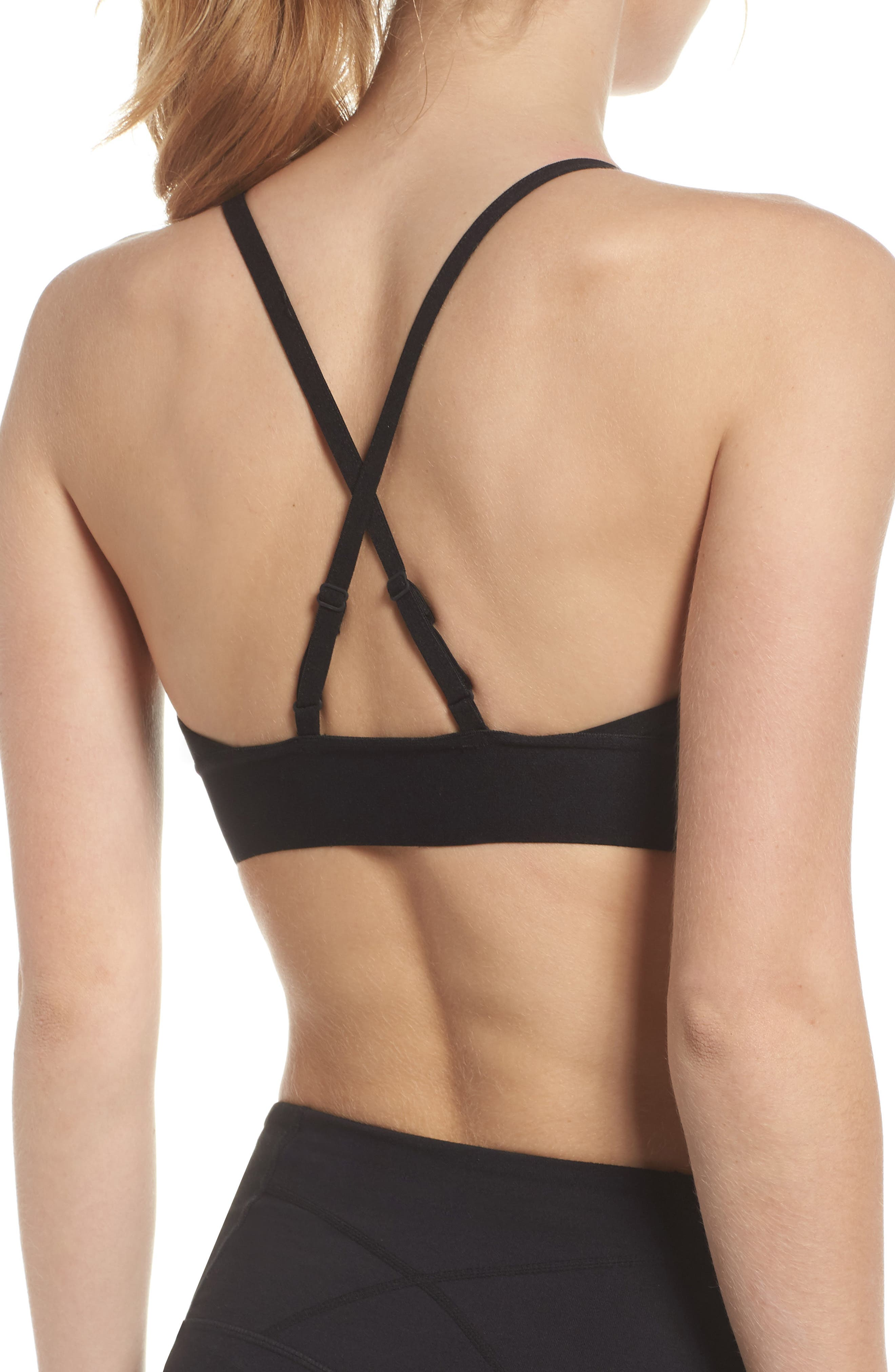 Stand Sports Bra,                             Alternate thumbnail 2, color,                             001