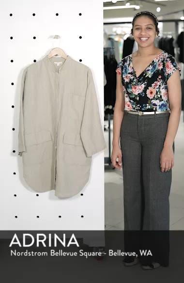 Organic Linen Jacket, sales video thumbnail