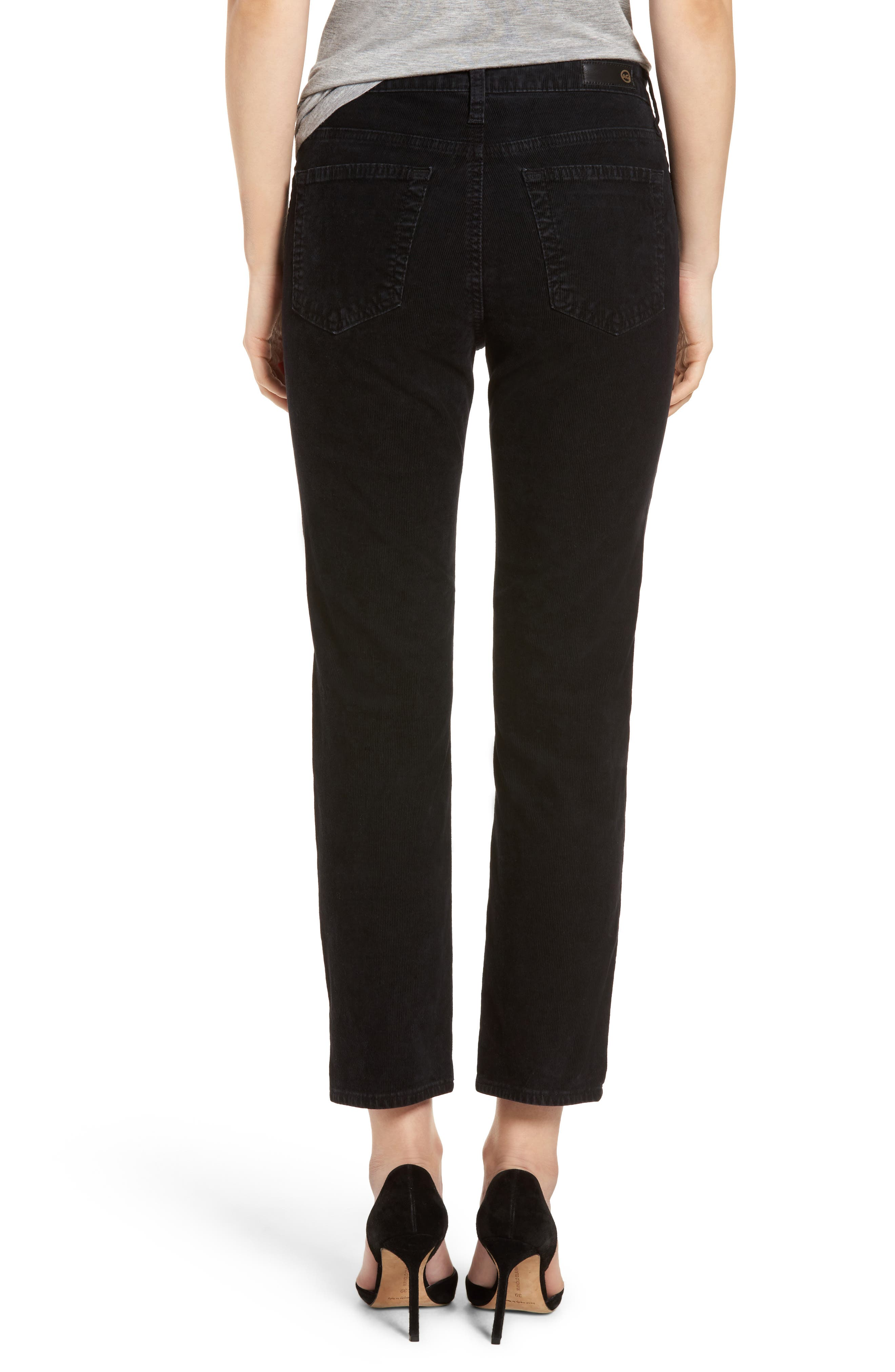 Isabelle High Waist Corduroy Jeans,                             Alternate thumbnail 2, color,