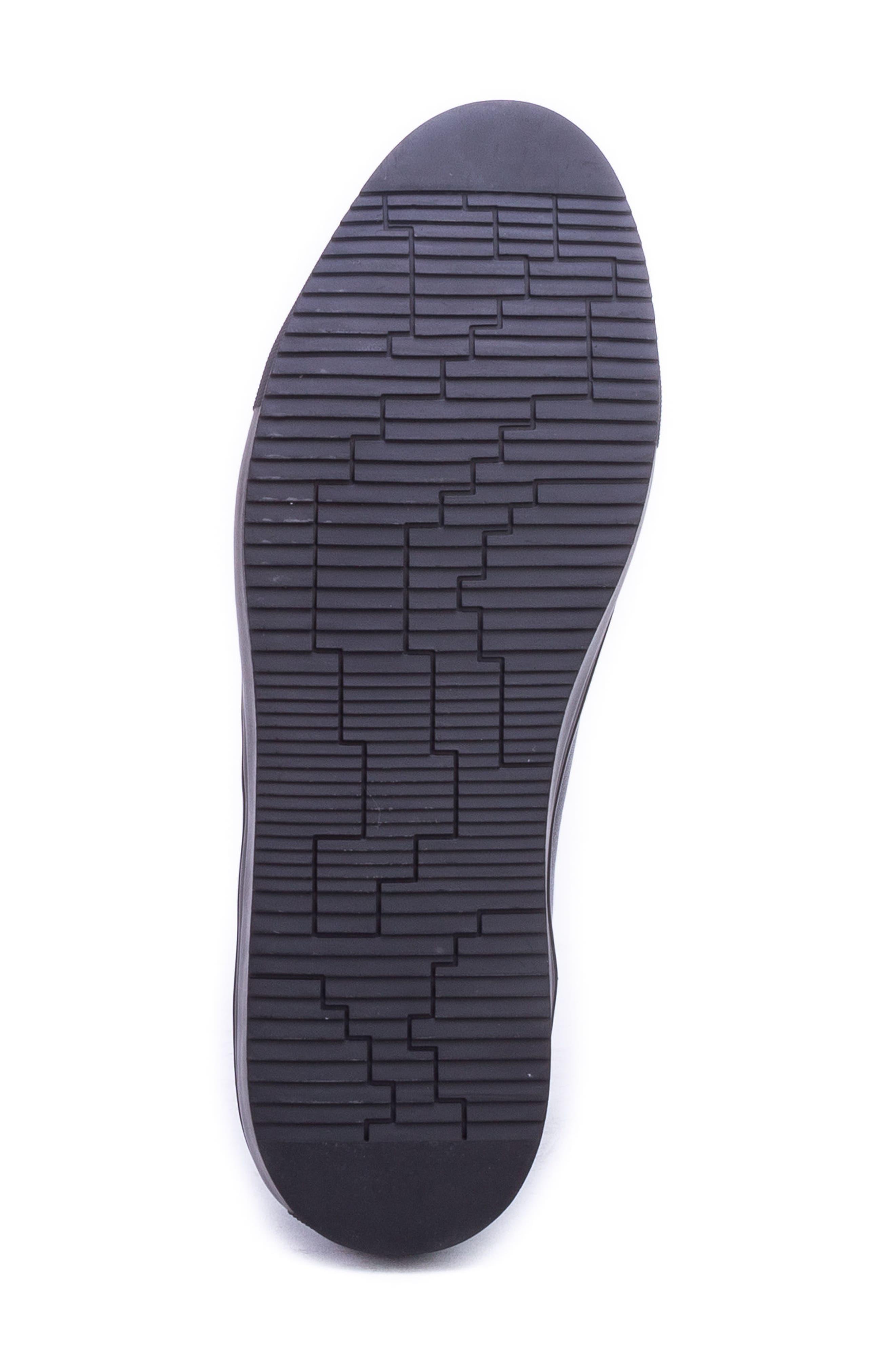 Sharpe Textured Sneaker,                             Alternate thumbnail 6, color,                             001