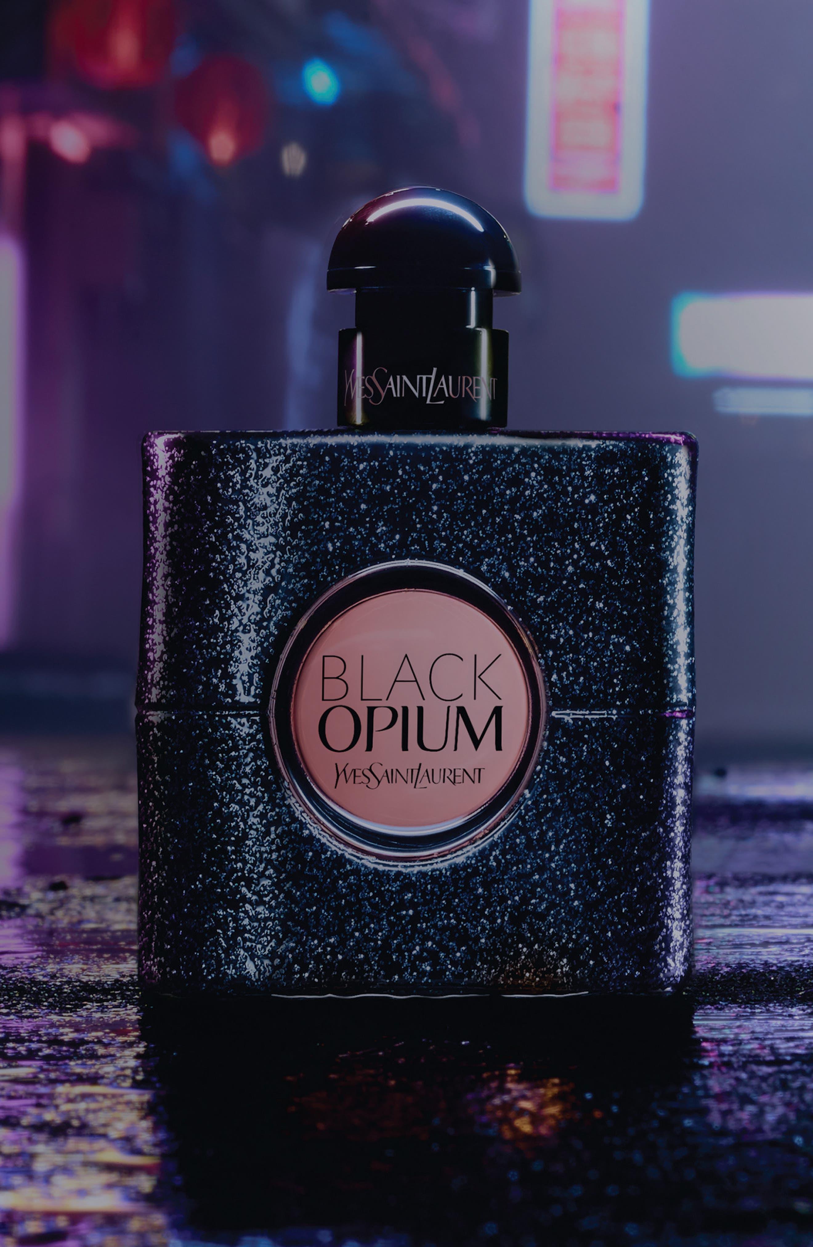 Black Opium Set,                             Alternate thumbnail 7, color,                             000