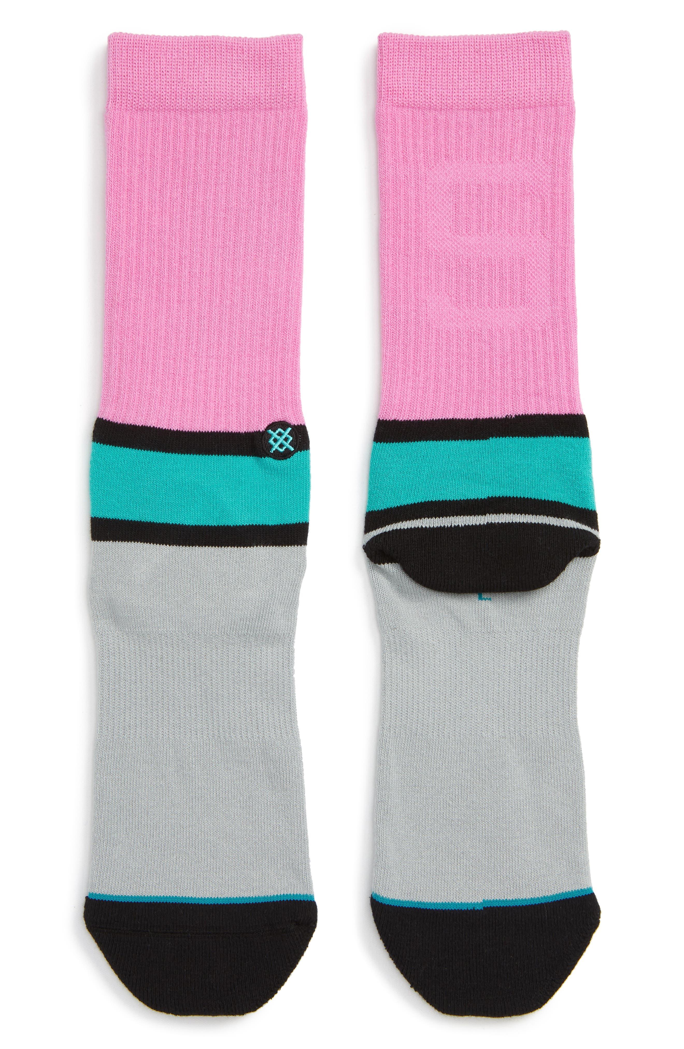 Abbot Socks,                             Main thumbnail 1, color,                             GREY