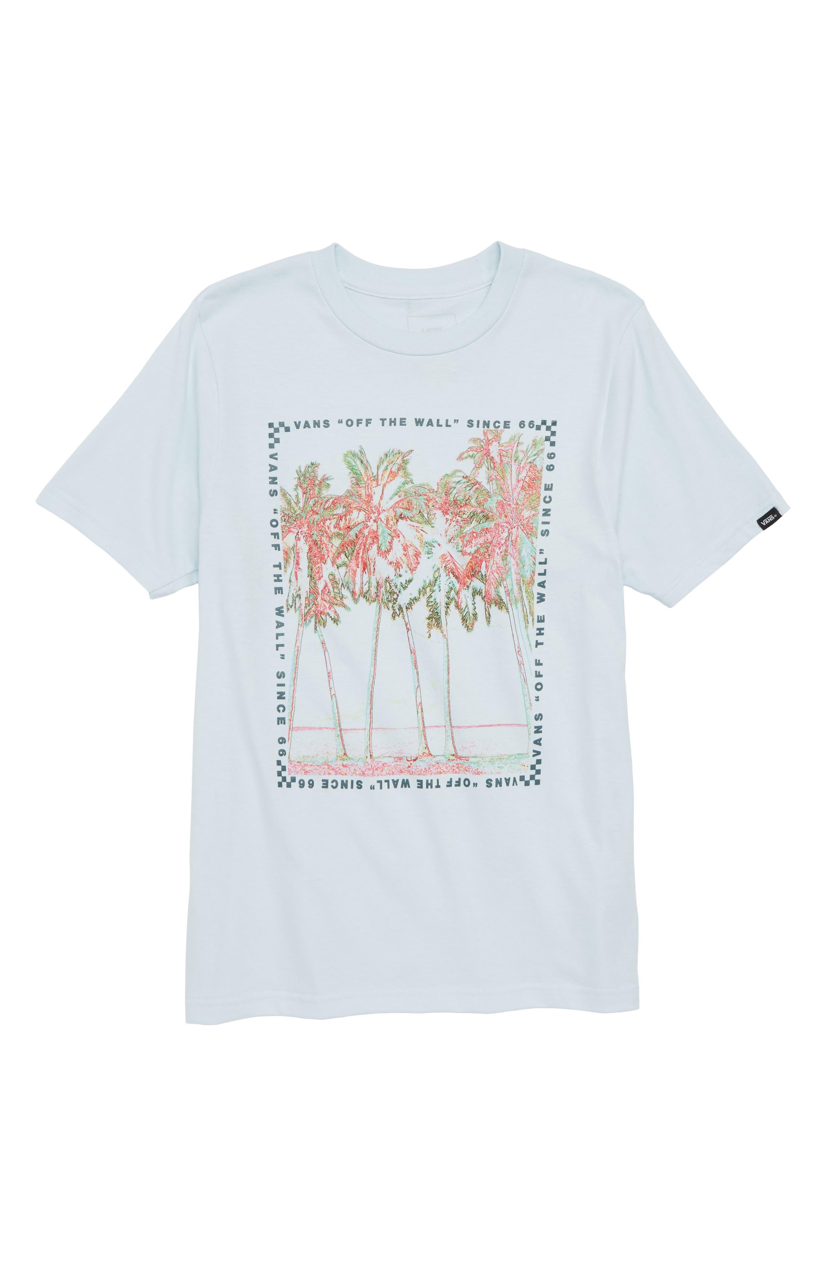 Big Palm Graphic T-Shirt,                             Main thumbnail 1, color,                             401