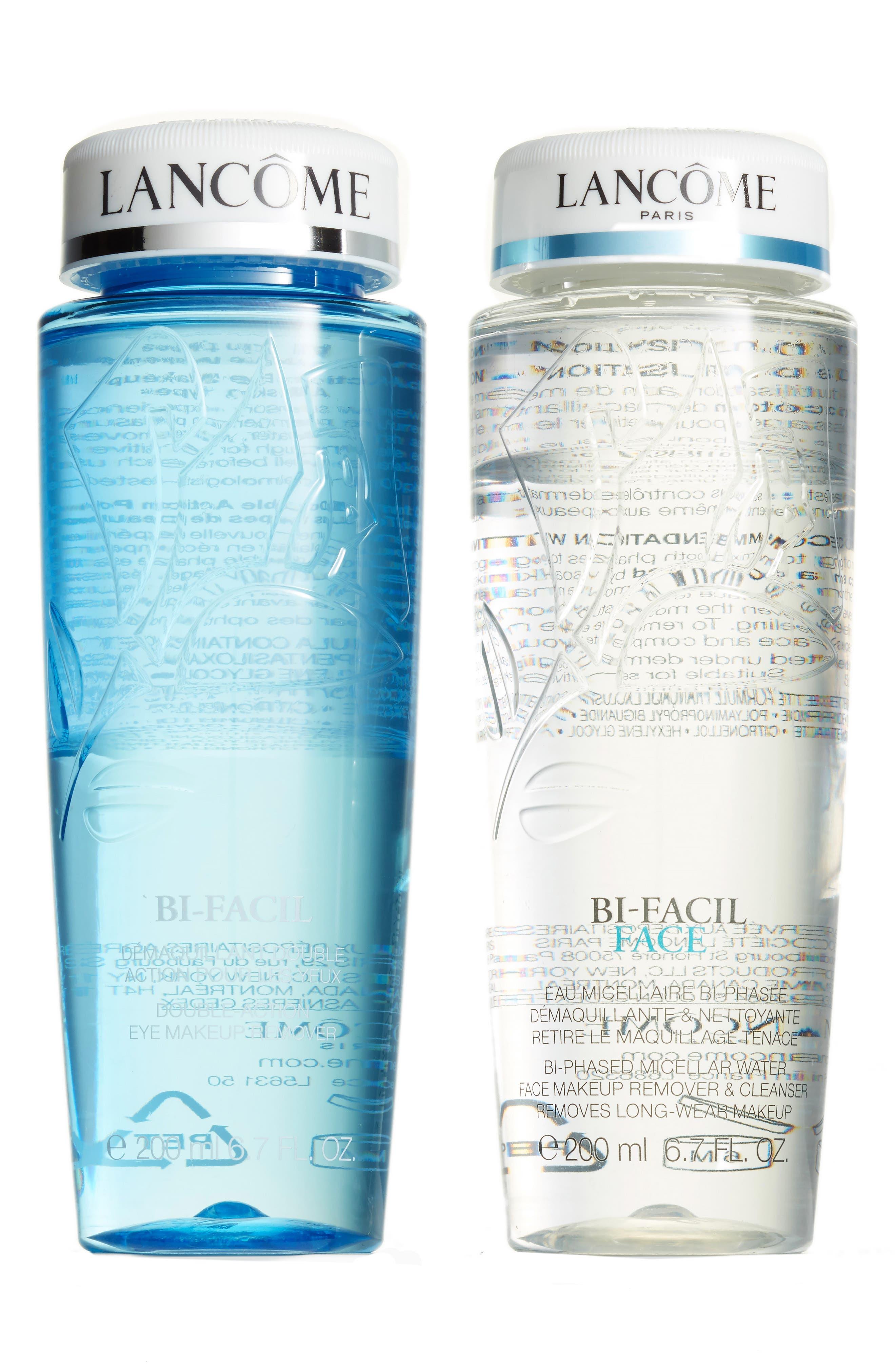 Bi-Facil Makeup Remover Duo,                             Main thumbnail 1, color,                             000