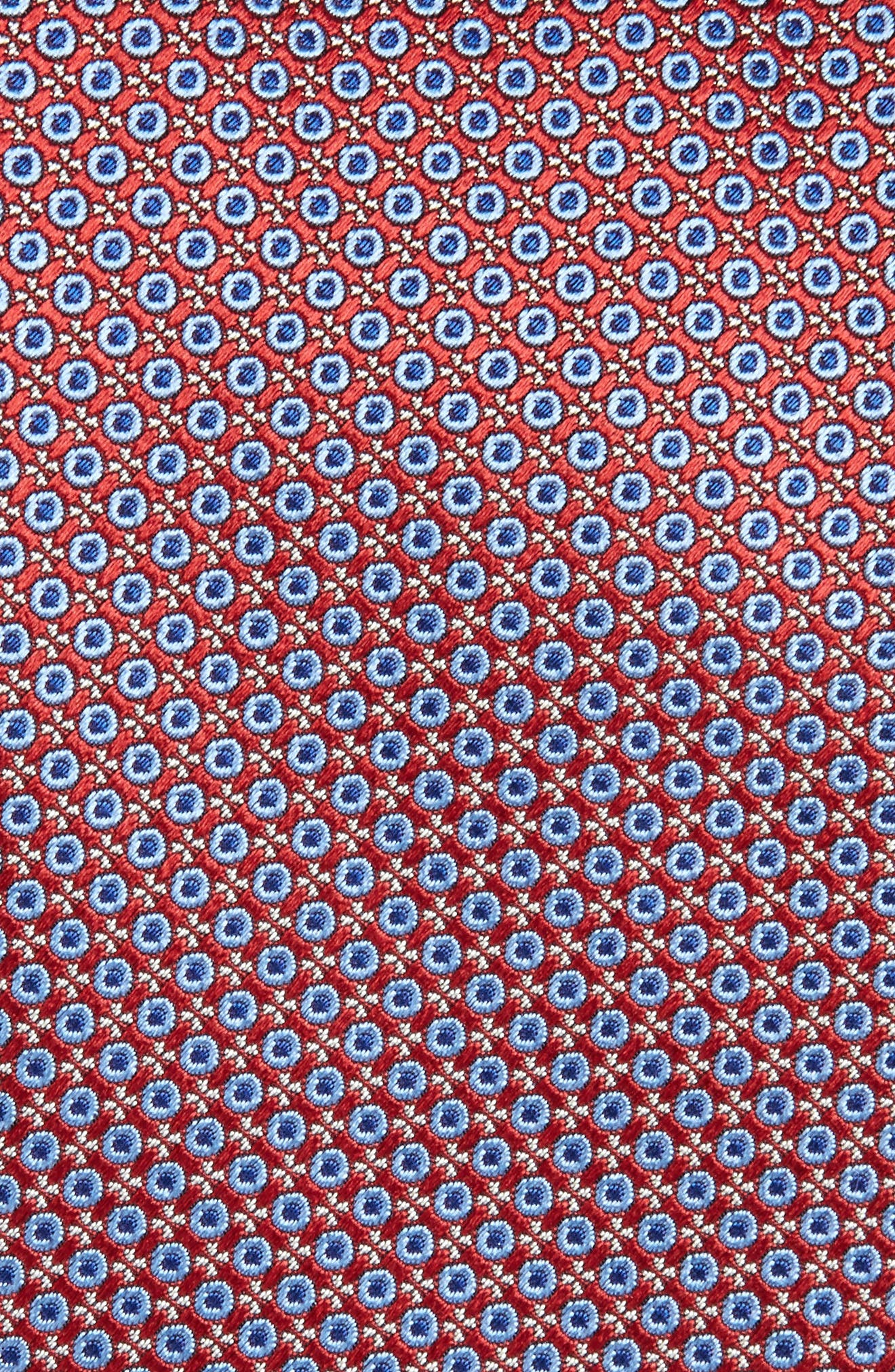Geometric Silk Tie,                             Alternate thumbnail 4, color,