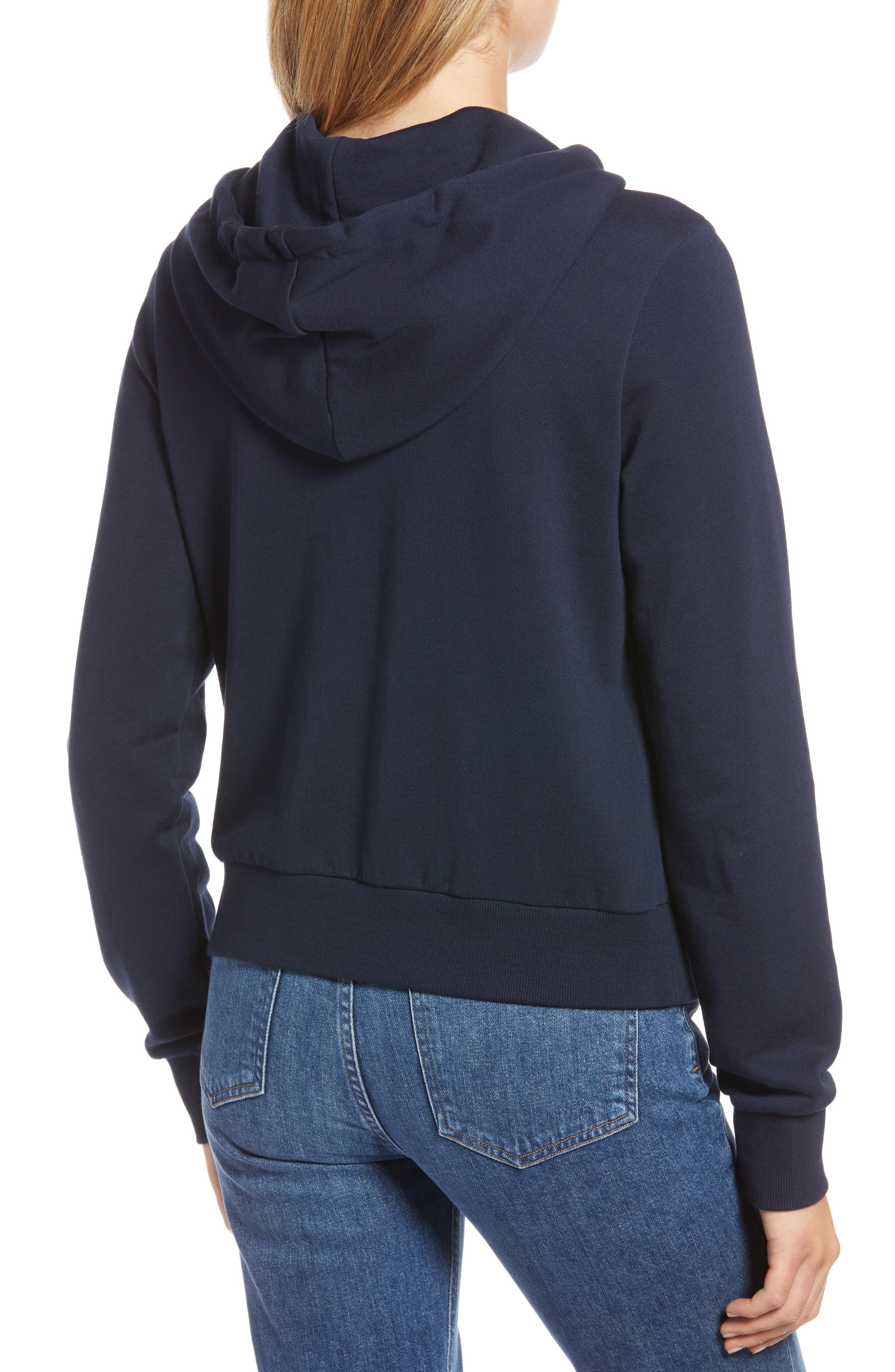 Stretch Cotton Hoodie,                             Alternate thumbnail 2, color,                             410