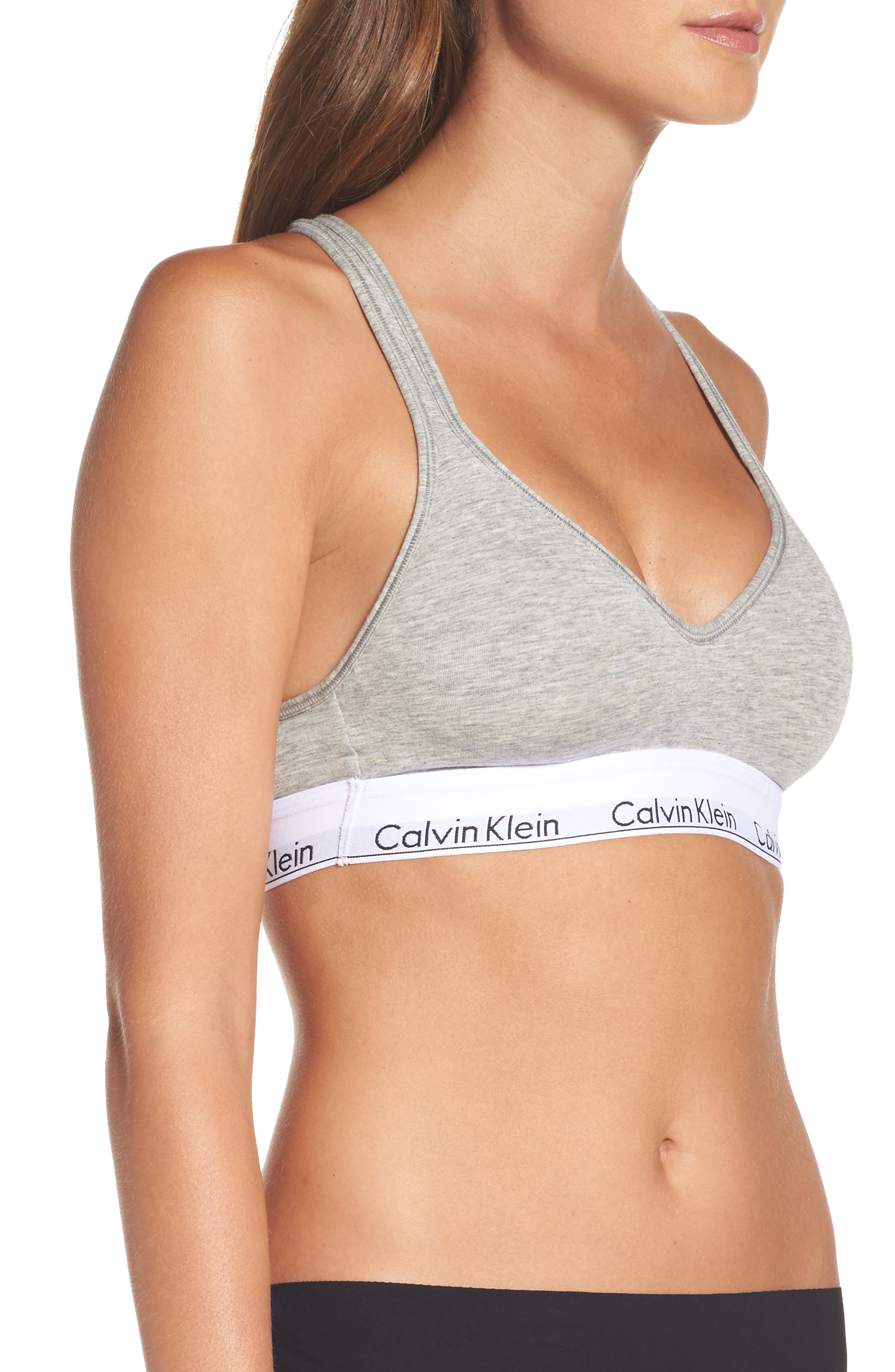 Modern Cotton Bra,                             Alternate thumbnail 10, color,